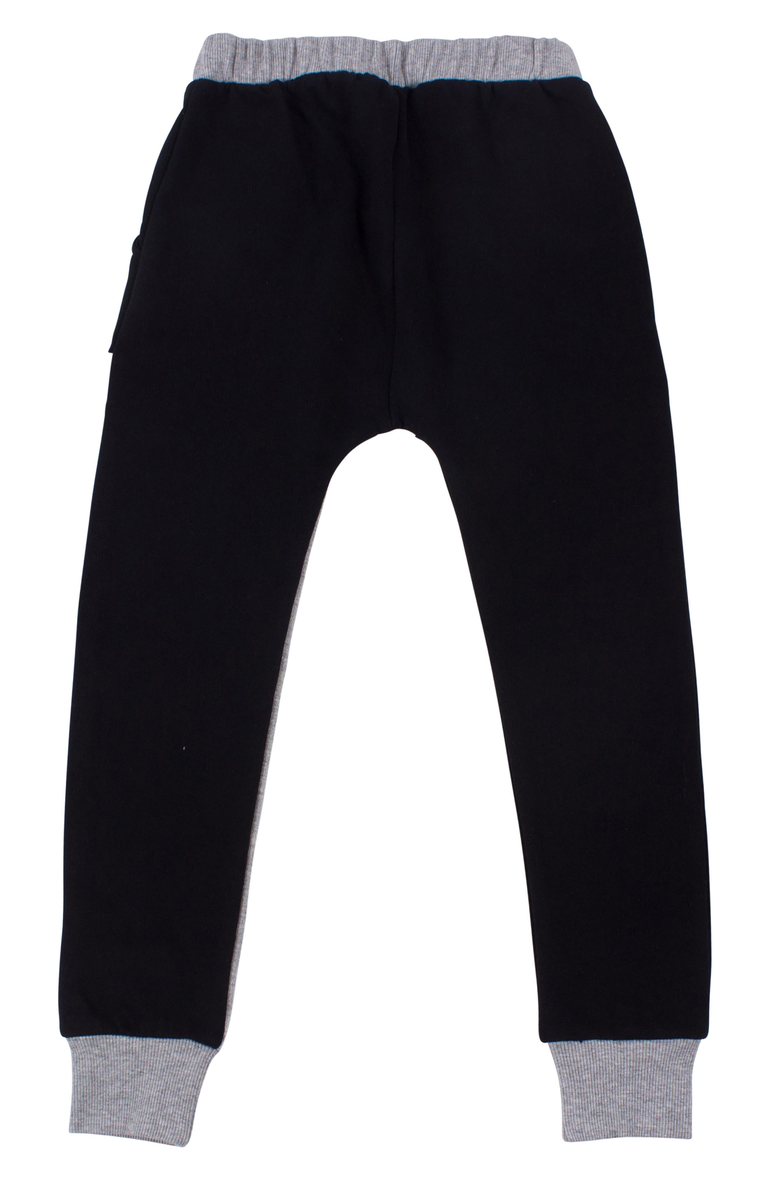 Triangle Sweatpants,                             Alternate thumbnail 2, color,                             001