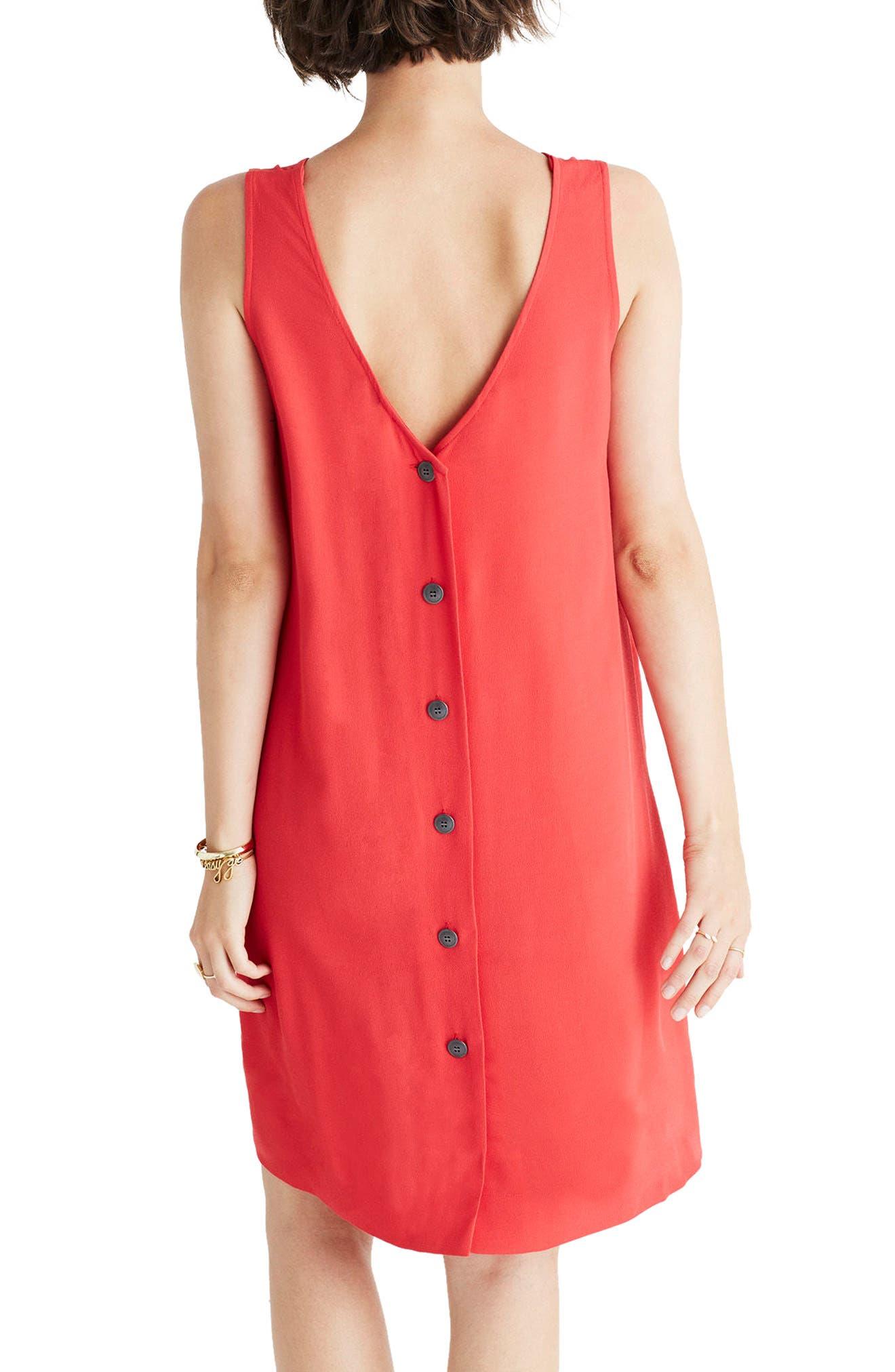 Lakeshore Button Back Dress,                             Alternate thumbnail 4, color,