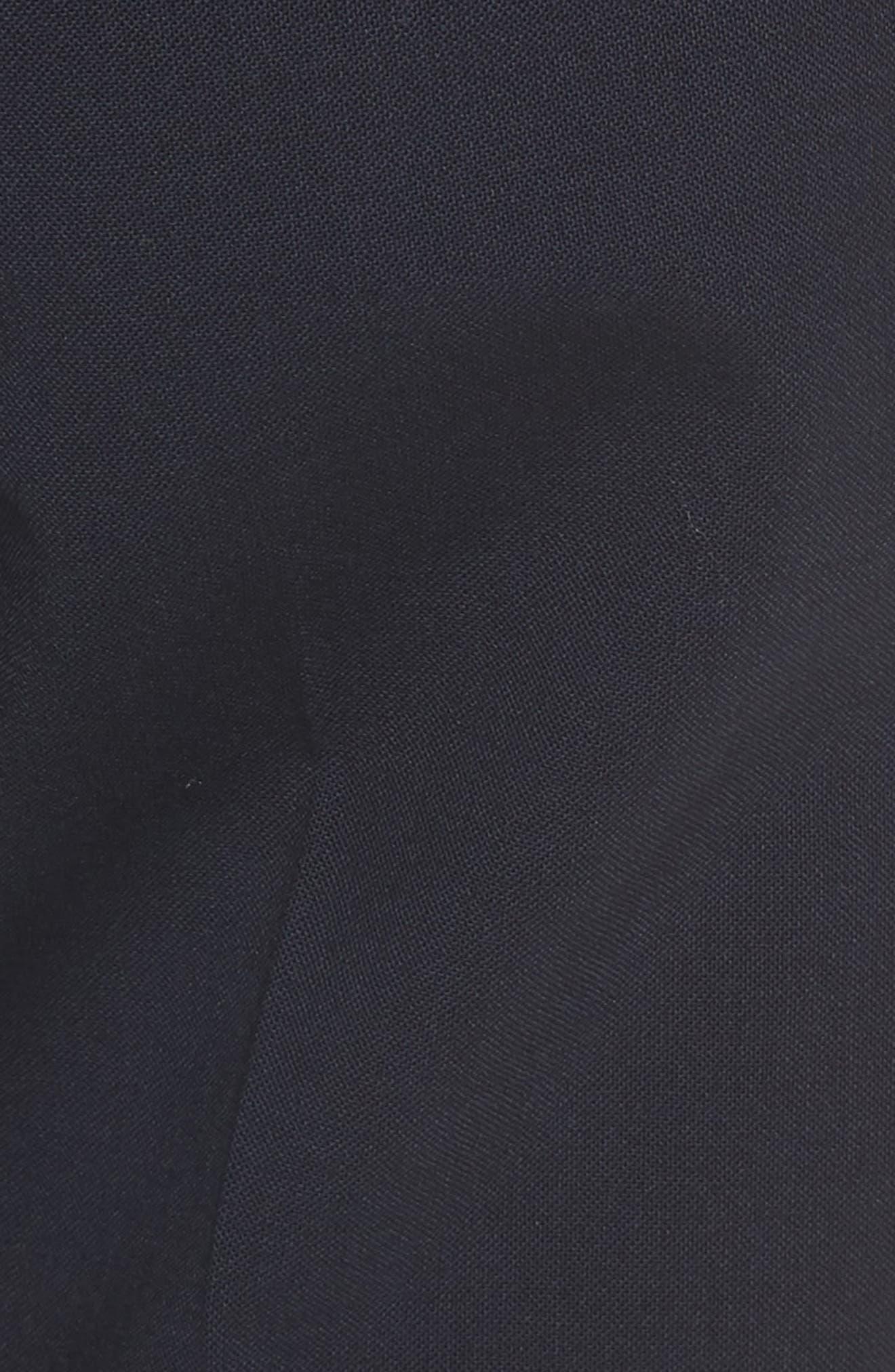 Crop Stretch Wool Pants,                             Alternate thumbnail 10, color,