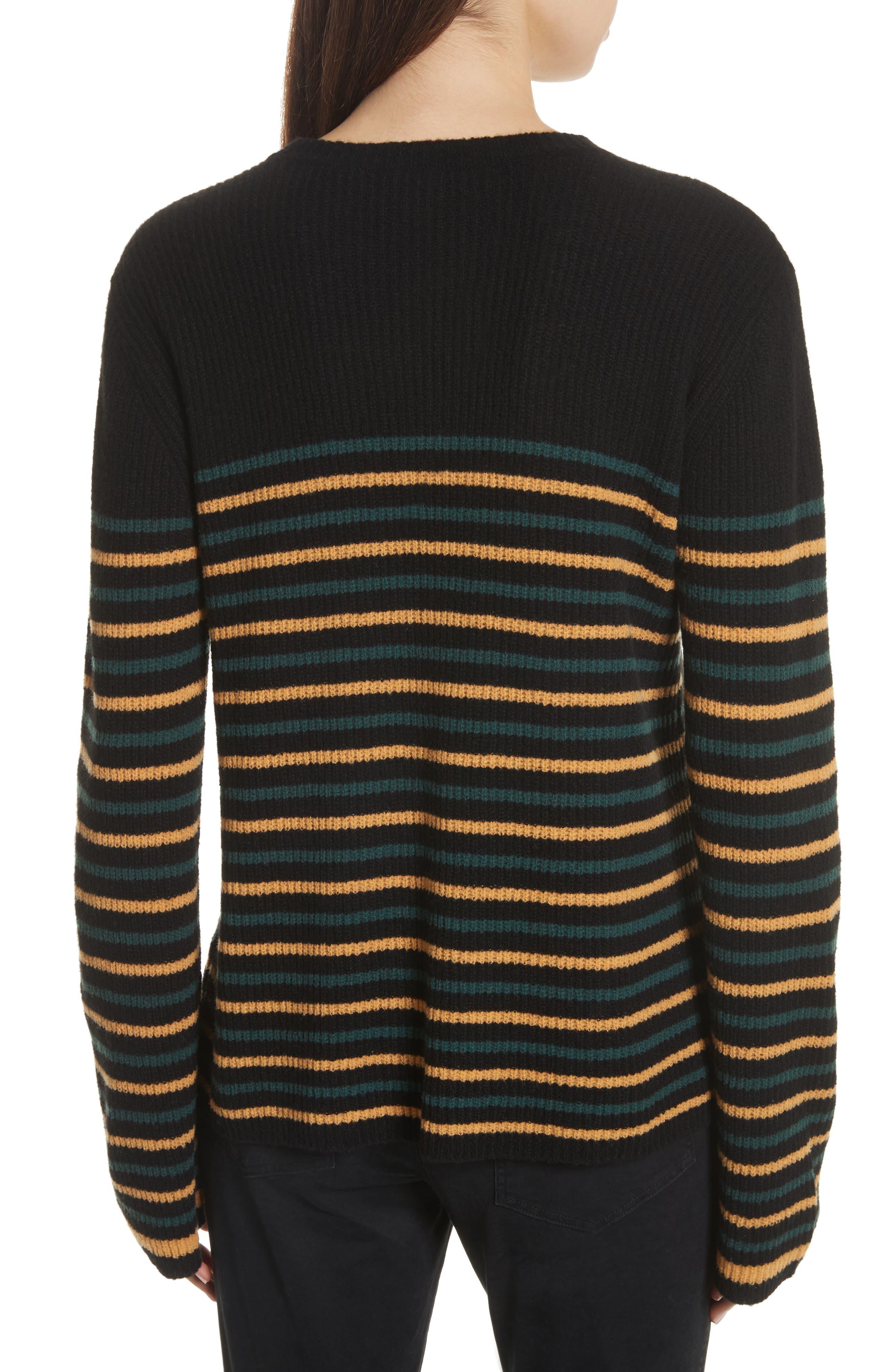 Meryl Stripe Sweater,                             Alternate thumbnail 3, color,