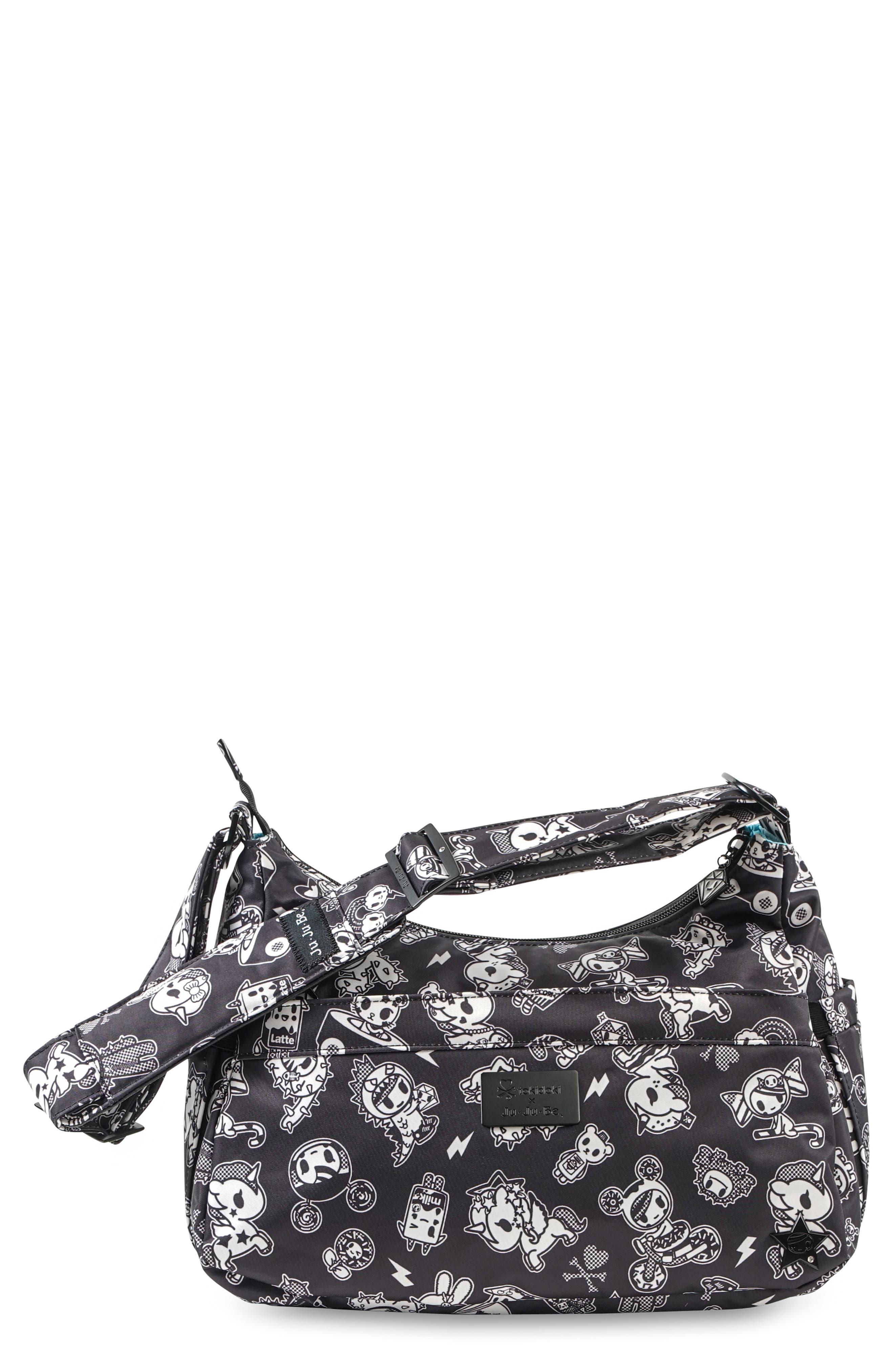 Infant Tokidoki X JuJuBe Hobobe Diaper Bag  Black