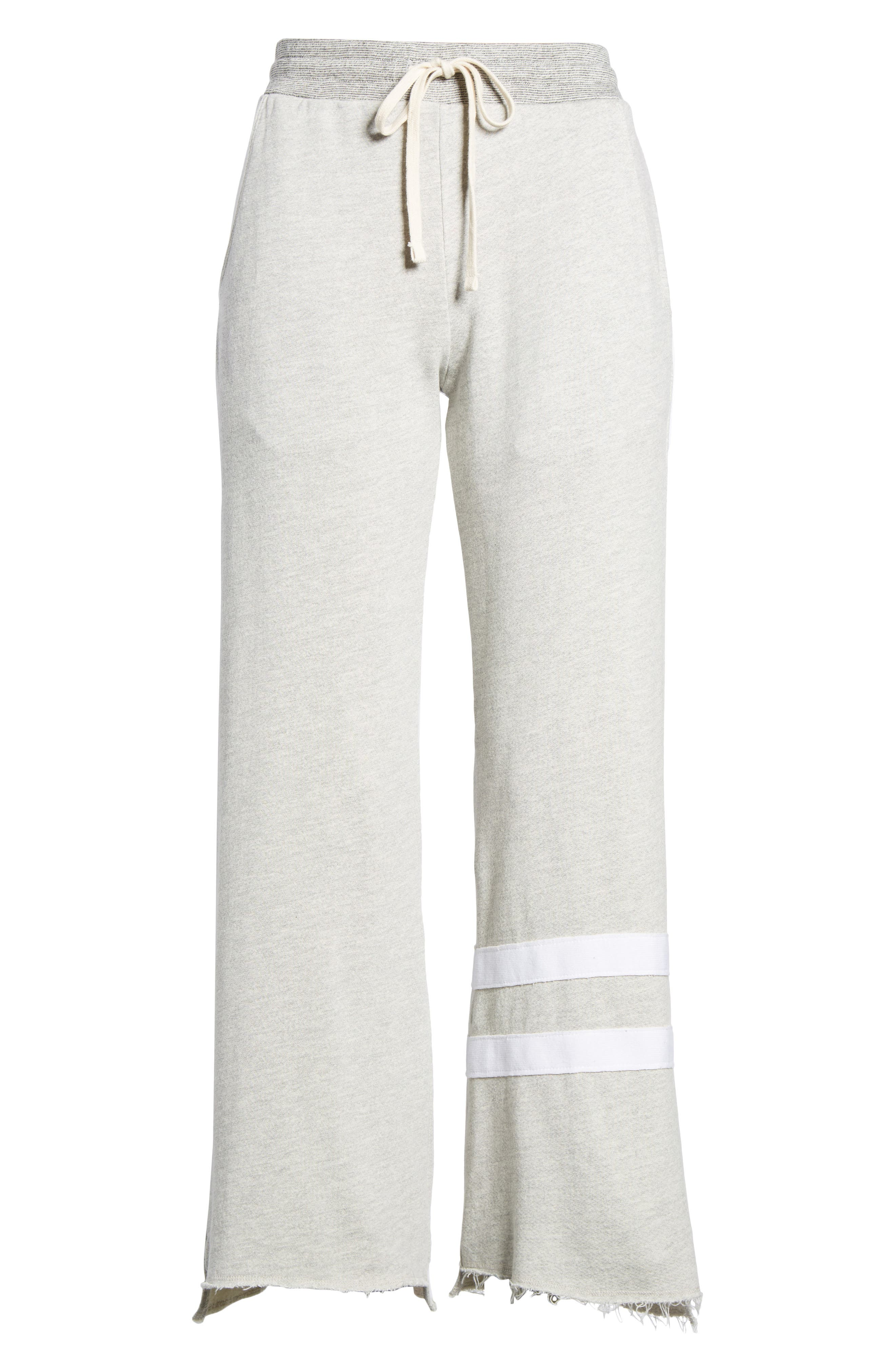 Stripe Flare Sweatpants,                             Alternate thumbnail 6, color,                             039
