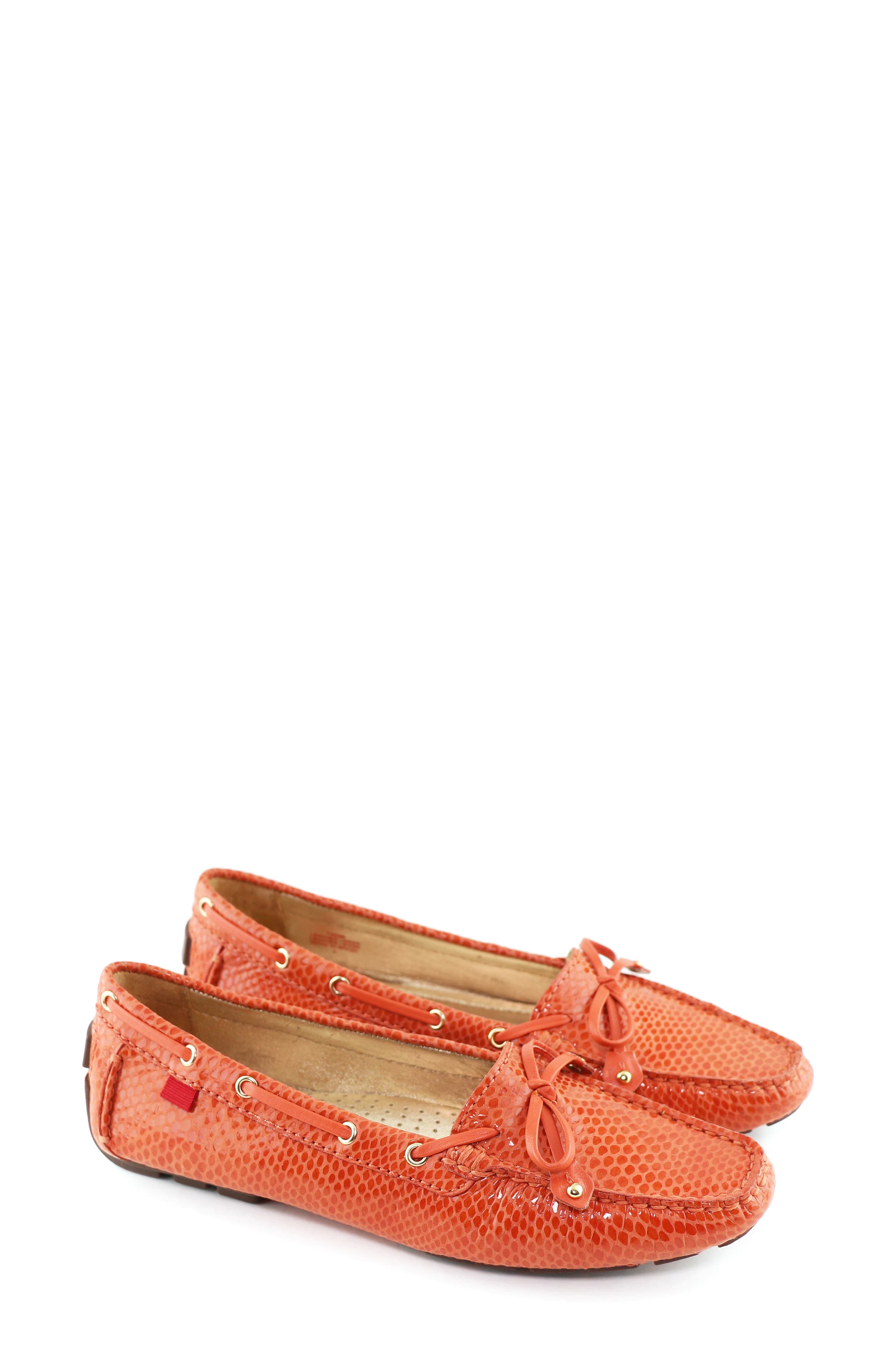 MARC JOSEPH NEW YORK,                             'Cypress Hill' Loafer,                             Alternate thumbnail 8, color,                             CORAL SNAKE PRINT LEATHER