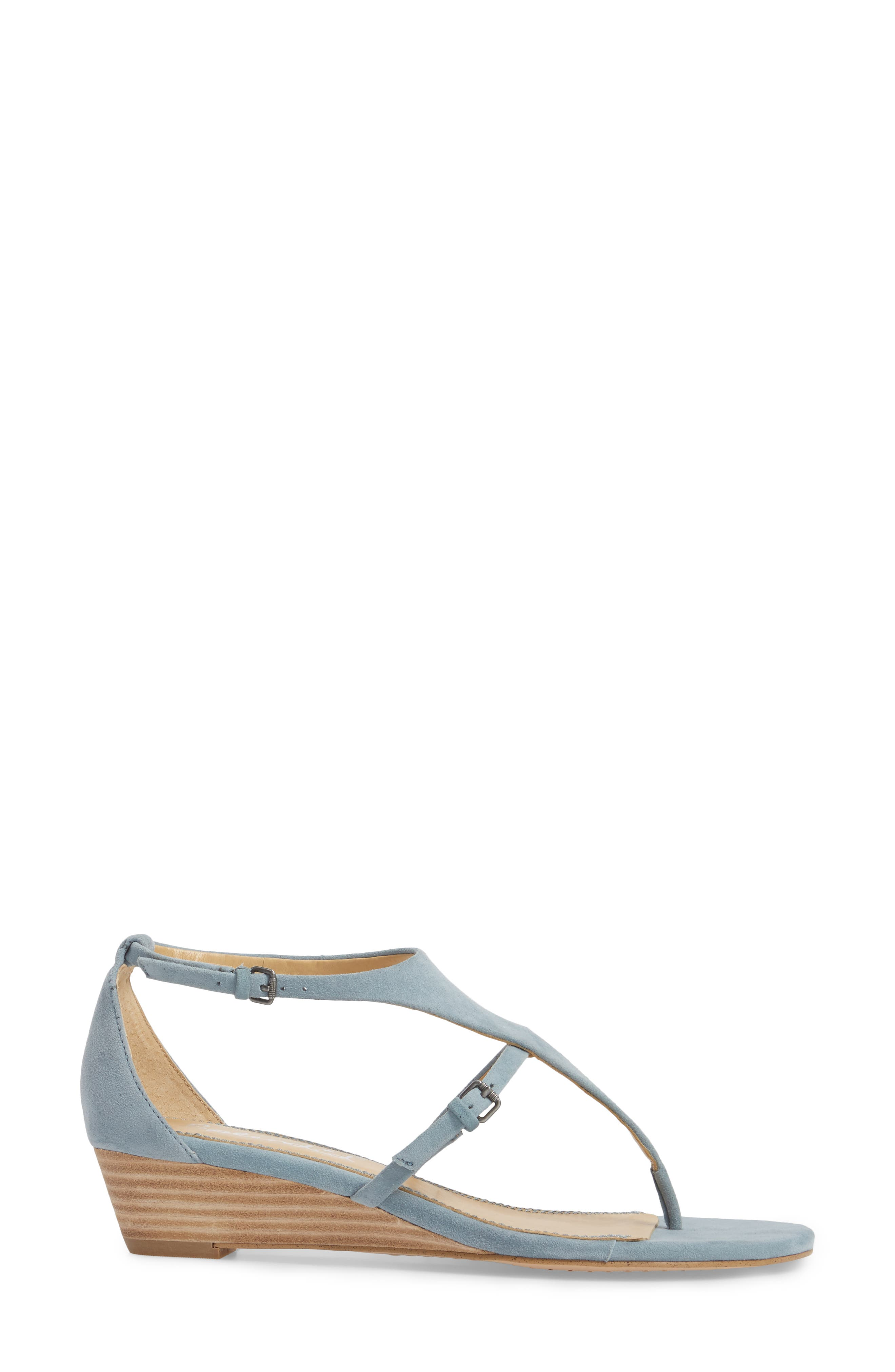 Brooklyn V-Strap Wedge Sandal,                             Alternate thumbnail 12, color,