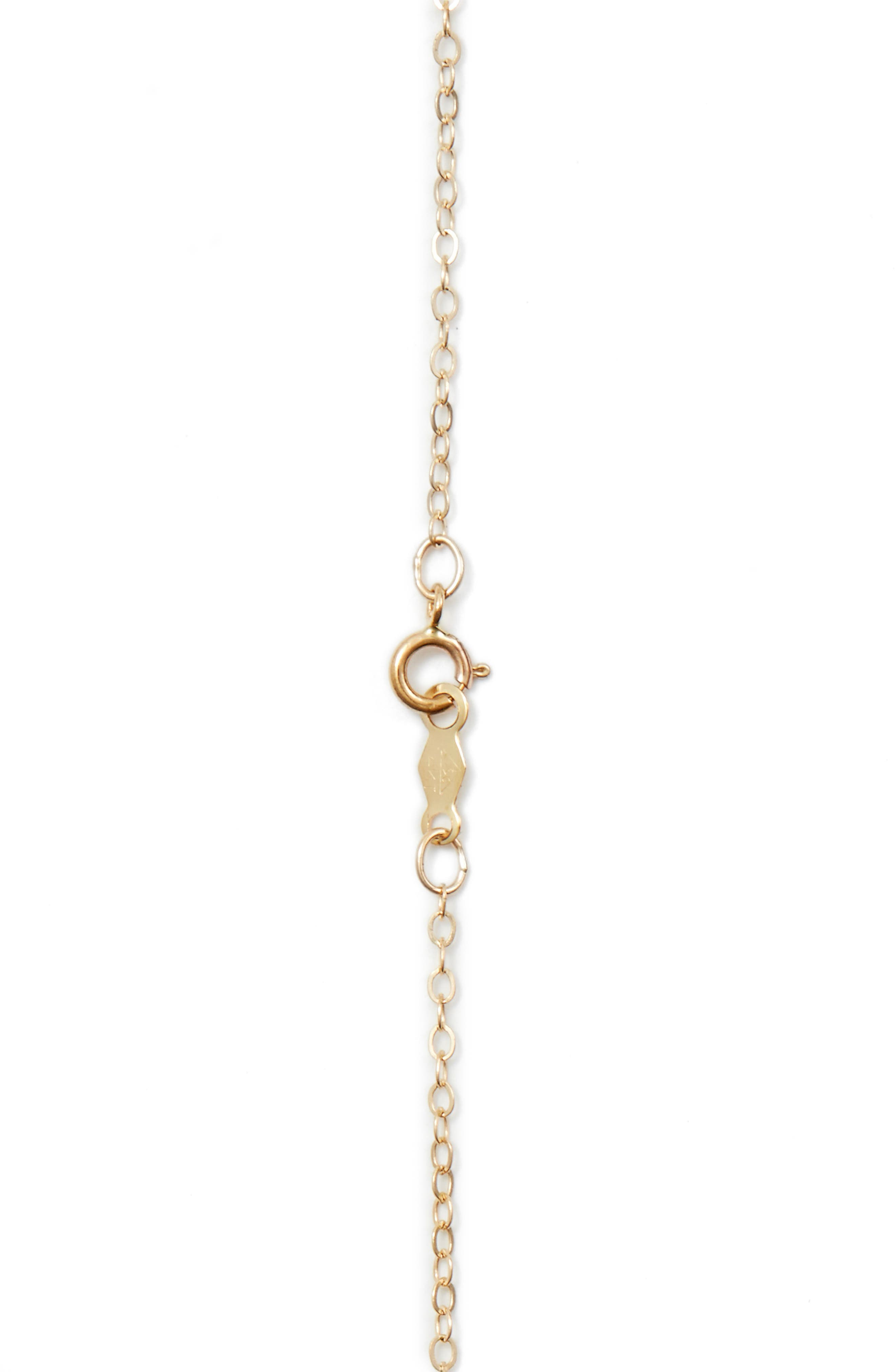 Triple Pearl Pendant Necklace,                             Alternate thumbnail 3, color,                             YELLOW GOLD/ WHITE PEARL