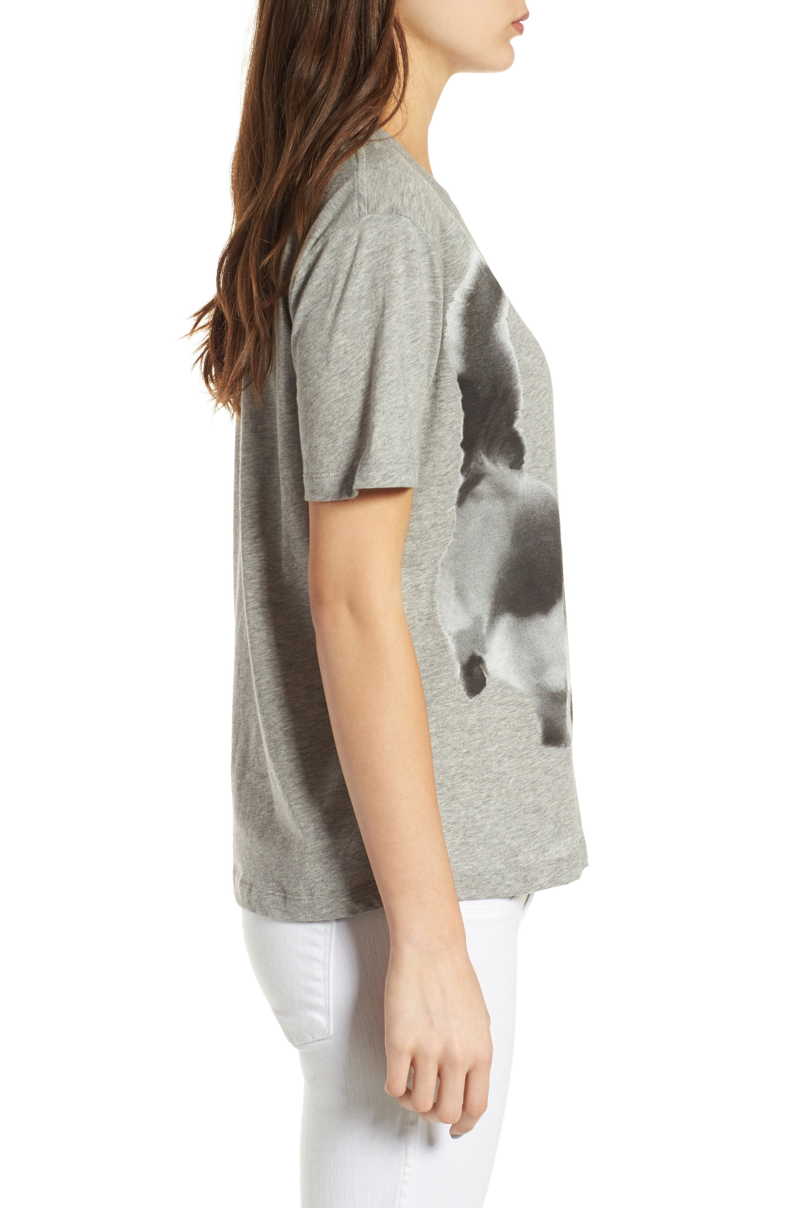 Cat Print Graphic Tee,                             Alternate thumbnail 5, color,