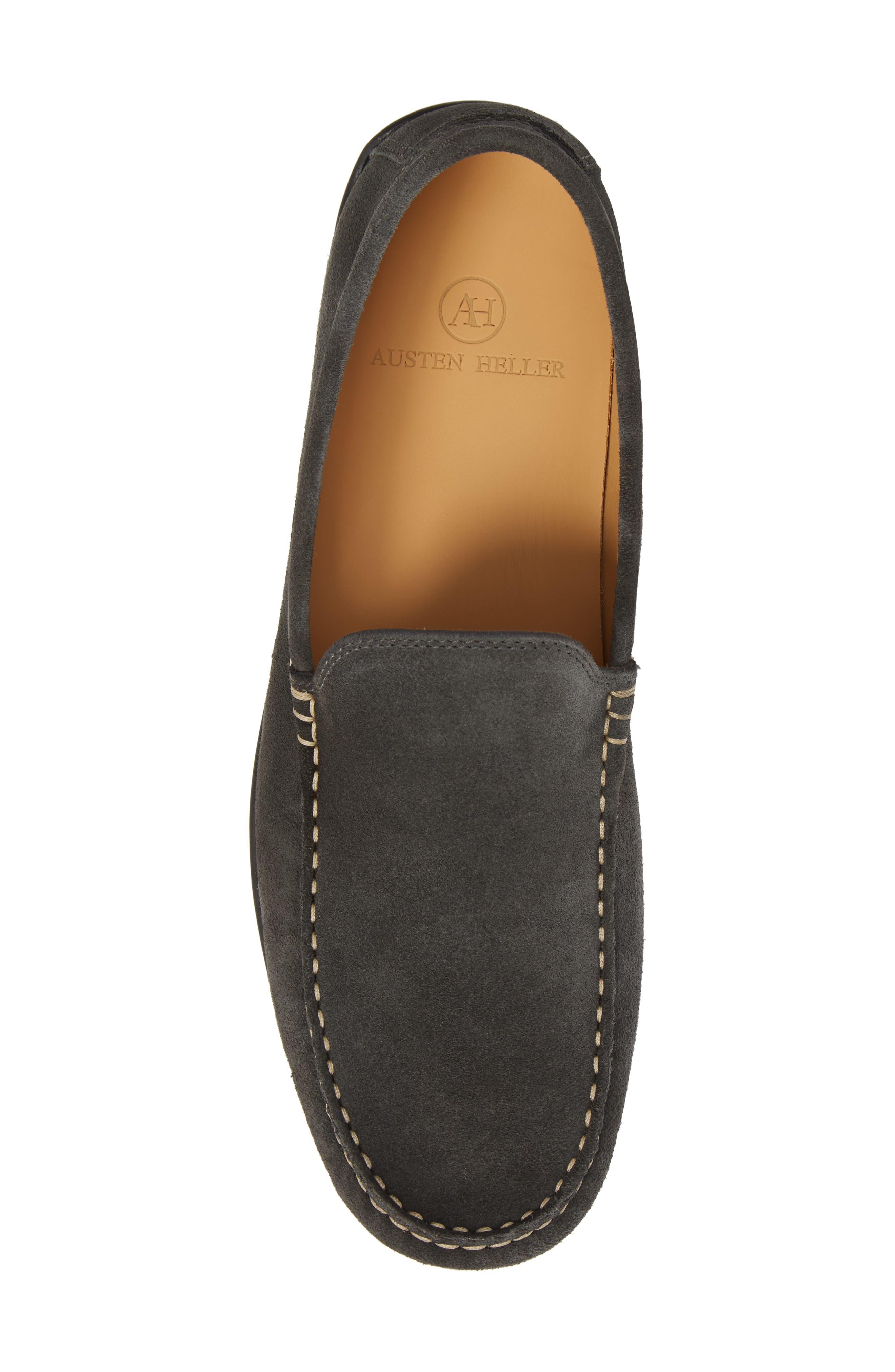 Greyhounds Loafer,                             Alternate thumbnail 5, color,                             GREY SUEDE