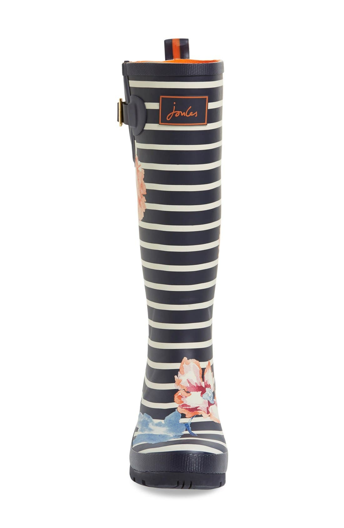'Welly' Print Rain Boot,                             Alternate thumbnail 91, color,
