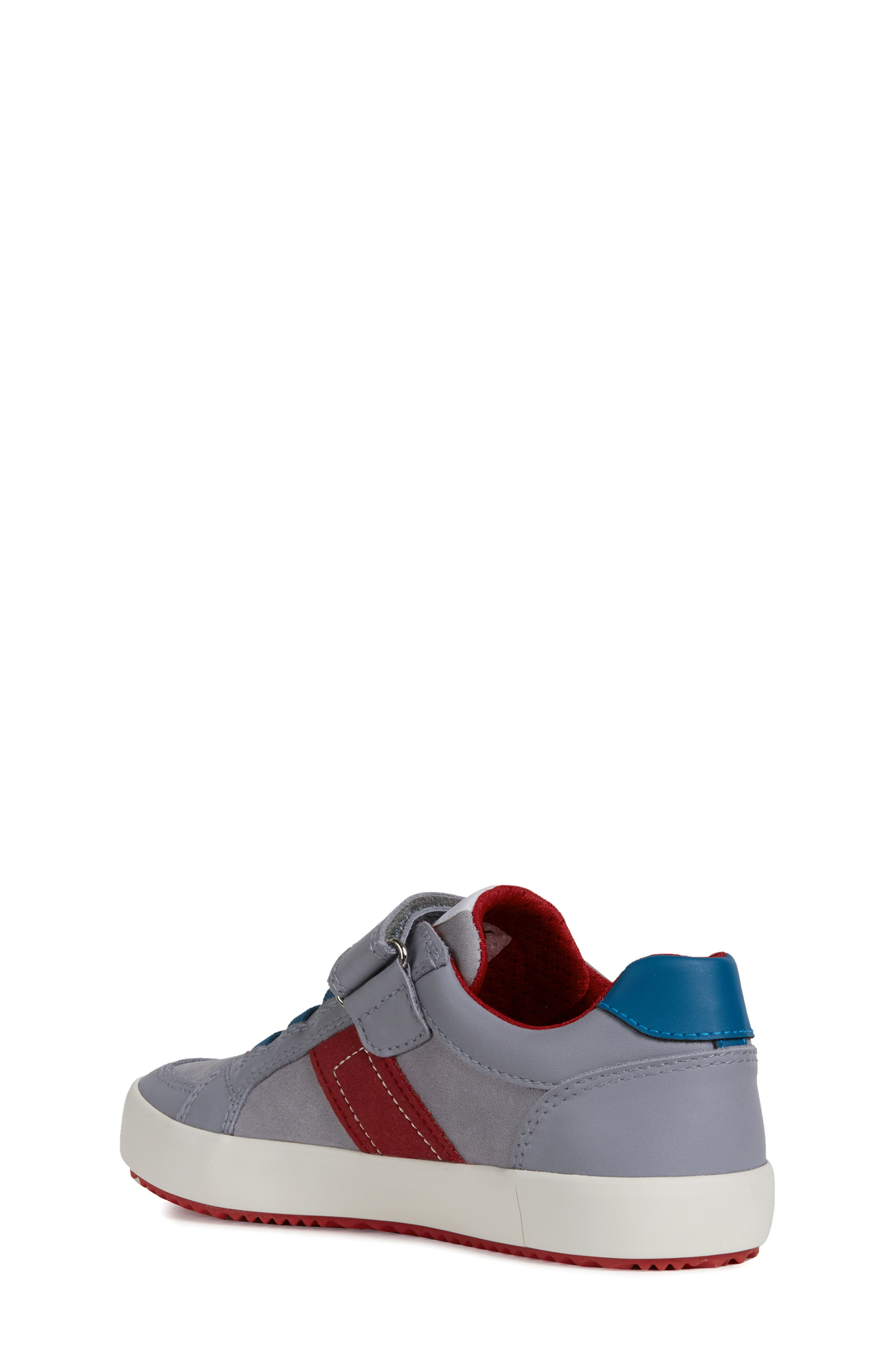 Alonisso Low Top Sneaker,                             Alternate thumbnail 2, color,                             GREY/ RED