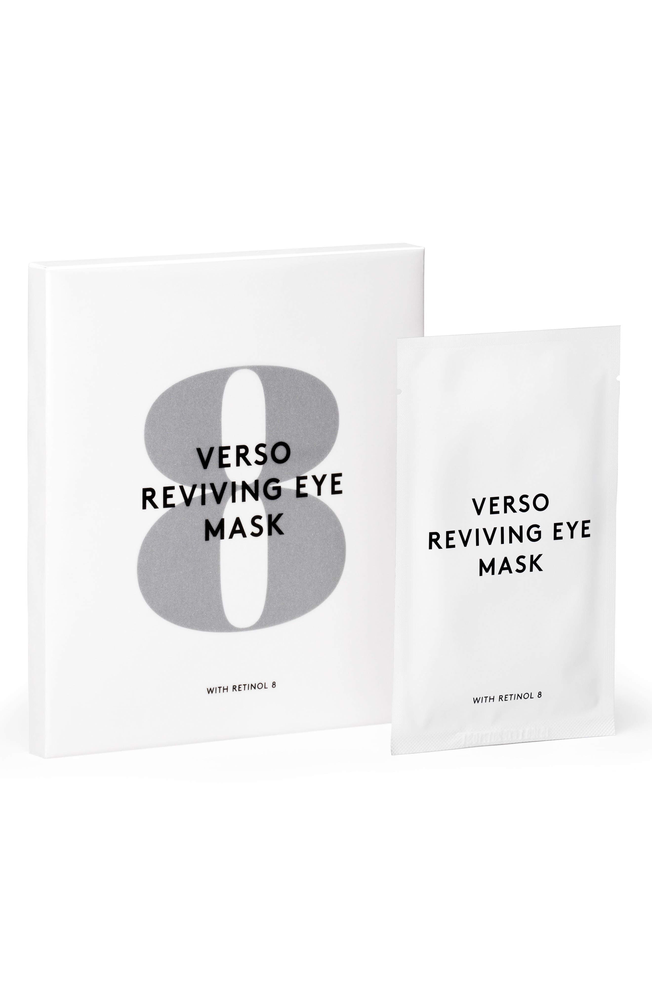 SPACE.NK.apothecary Verso Skincare Eye Reviving Mask,                             Main thumbnail 1, color,                             NO COLOR
