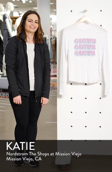 Graphic Long Sleeve Tee, sales video thumbnail