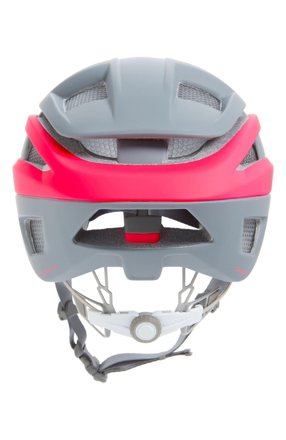 'Overtake with Aerocore<sup>™</sup> Featuring Koroyd<sup>®</sup>' Biking Racer Helmet,                             Alternate thumbnail 4, color,                             MATTE BLACK