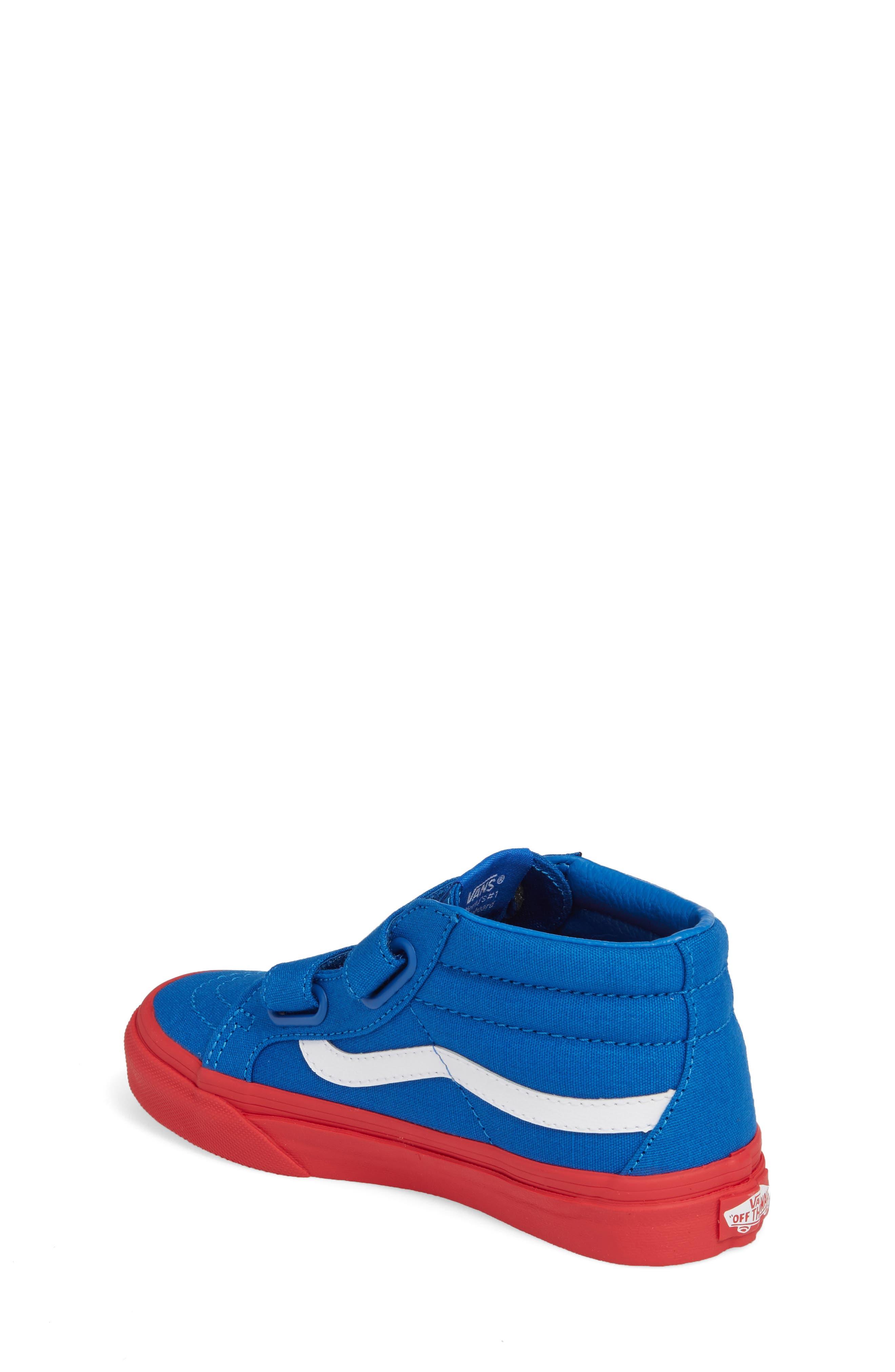 VANS,                             Sk8-Mid Reissue Sneaker,                             Alternate thumbnail 2, color,                             420