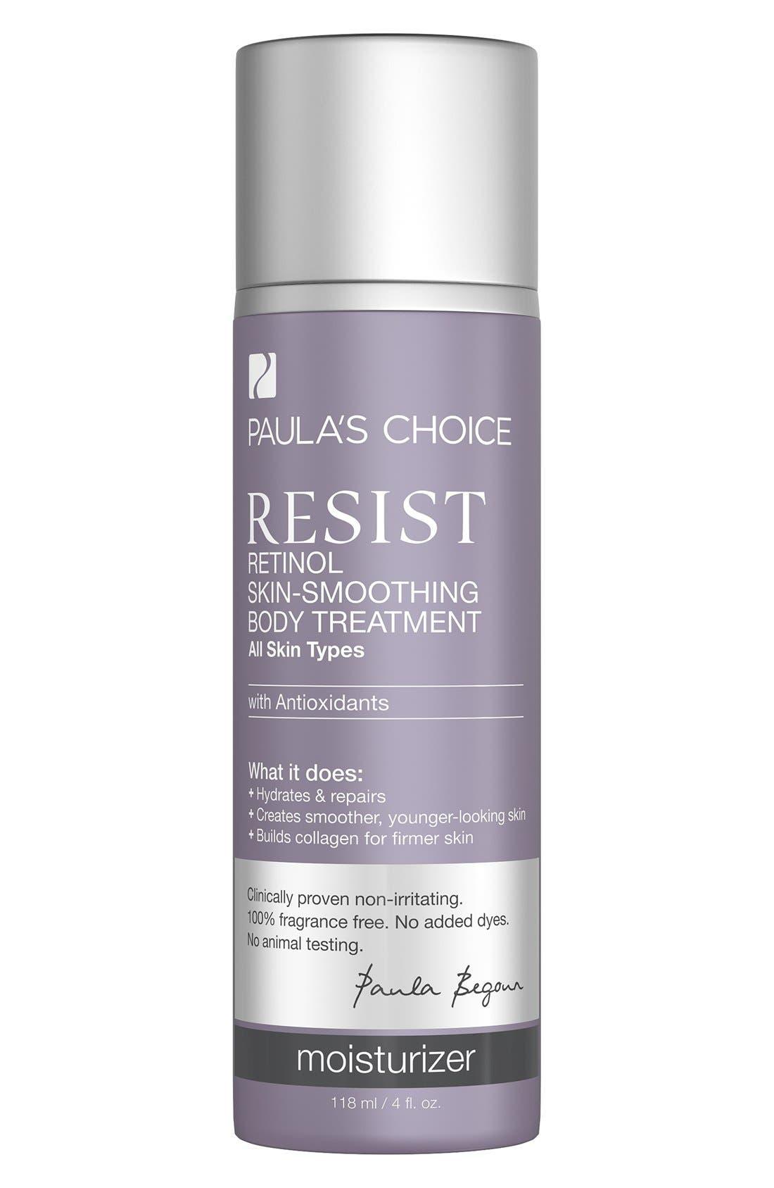 Resist Retinol Skin Smoothing Body Treatment,                             Main thumbnail 1, color,                             000