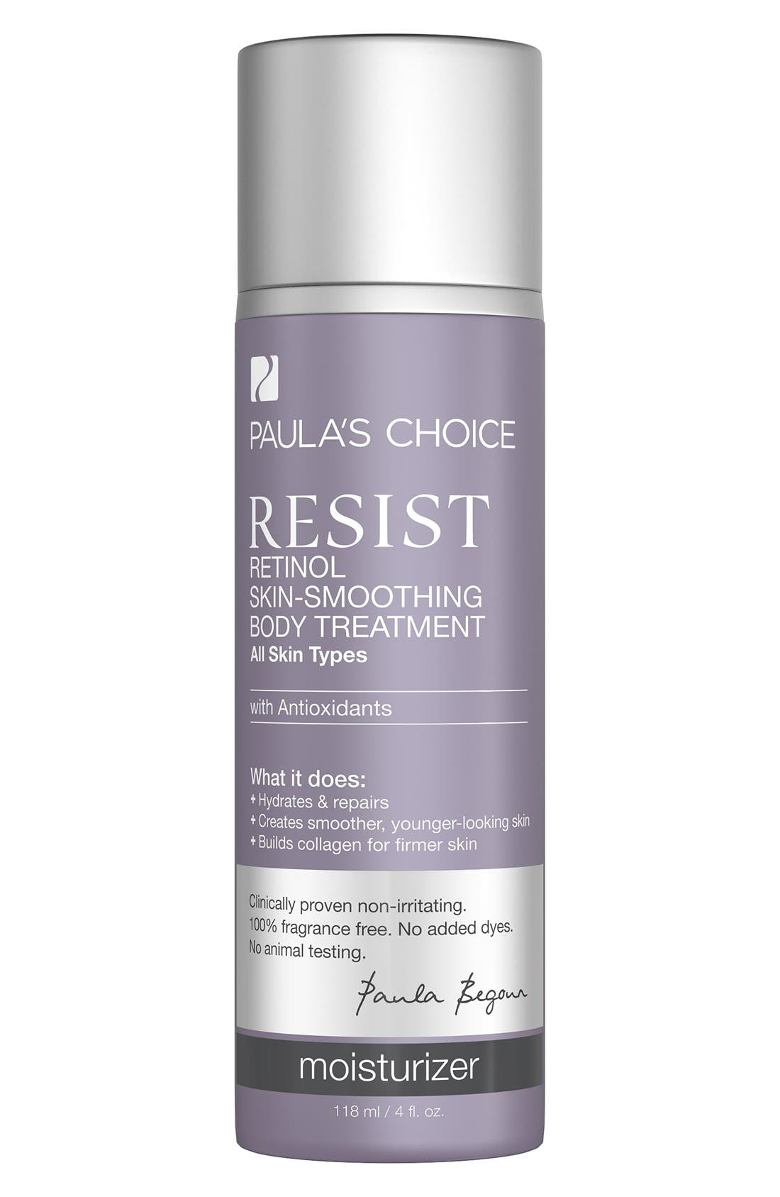 Resist Retinol Skin Smoothing Body Treatment,                         Main,                         color, 000