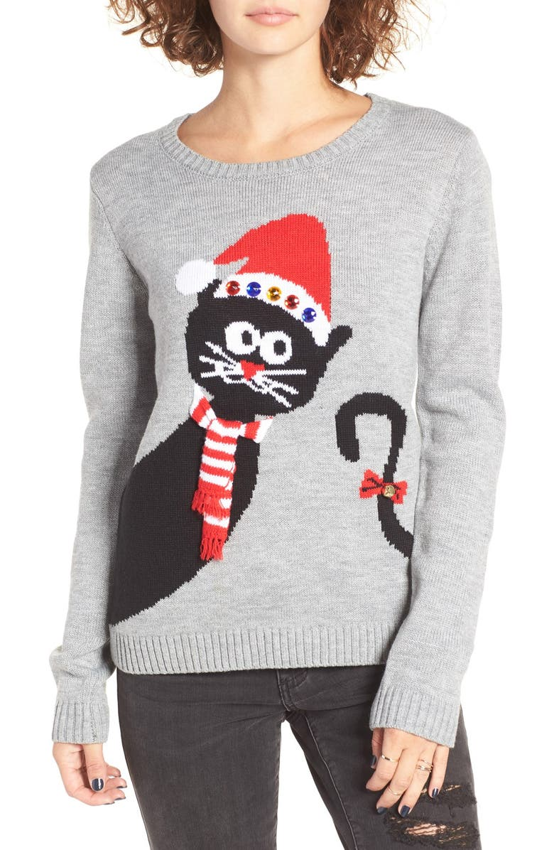 peekaboo cat christmas sweater - Nordstrom Christmas Sweaters