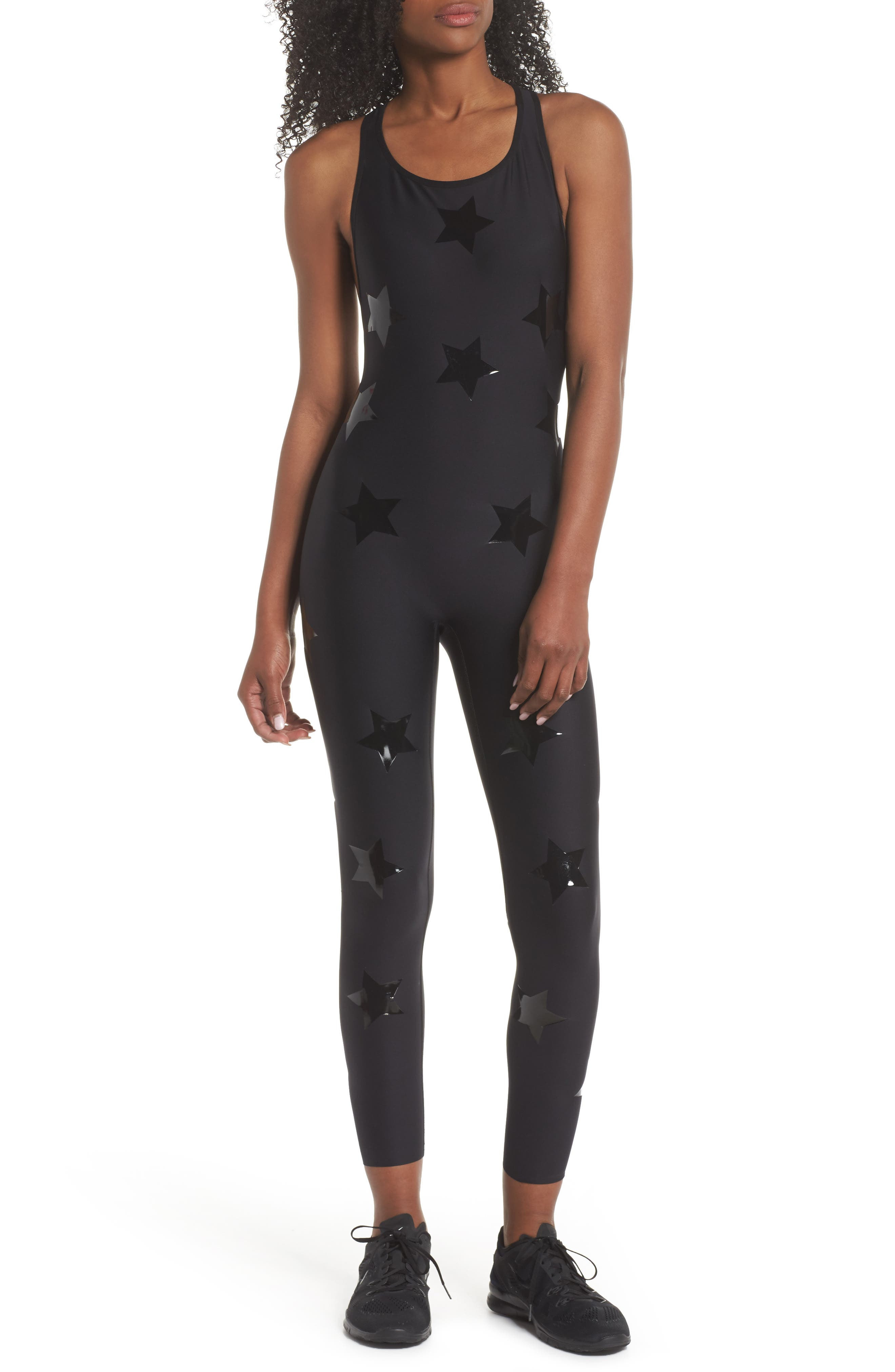 Motion Lux Knockout Unitard,                             Main thumbnail 1, color,                             002