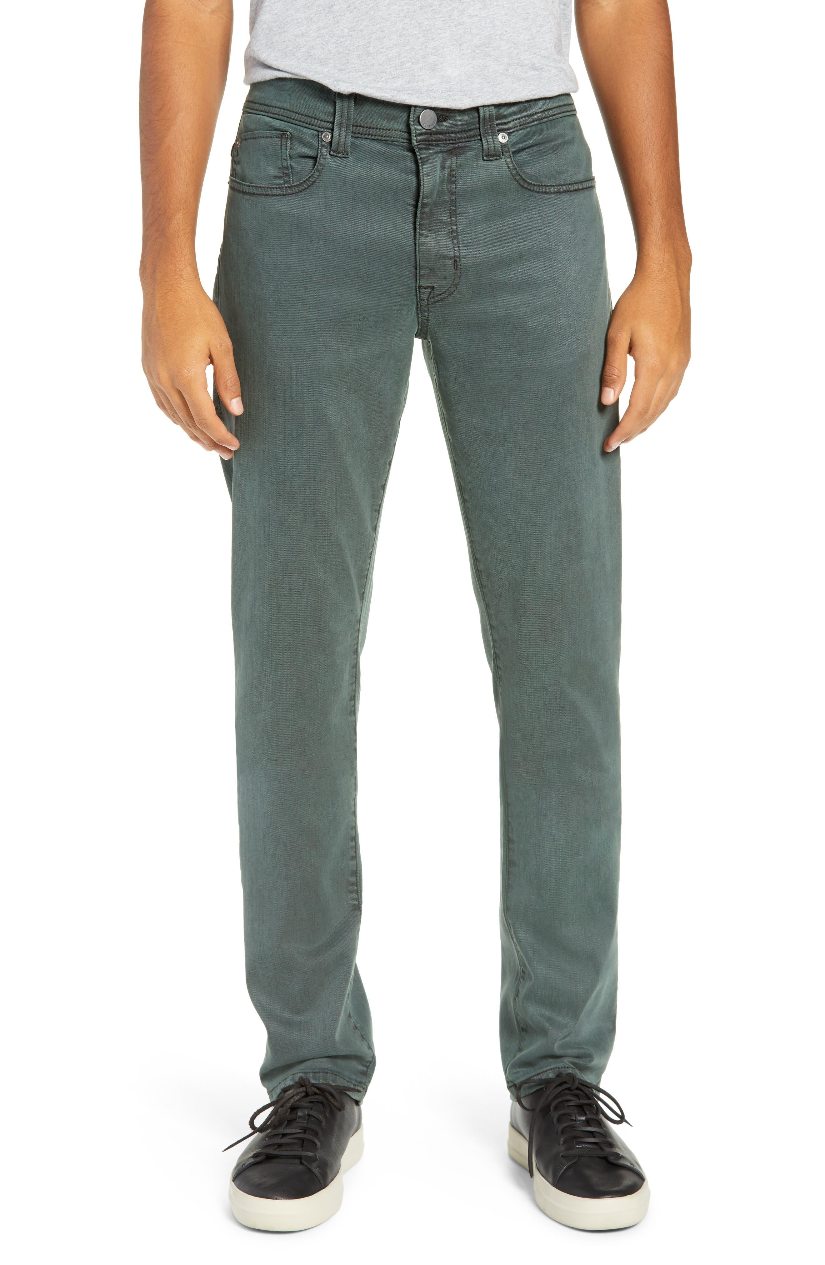 Jimmy Slim Straight Leg Pants,                         Main,                         color, SPRUCE