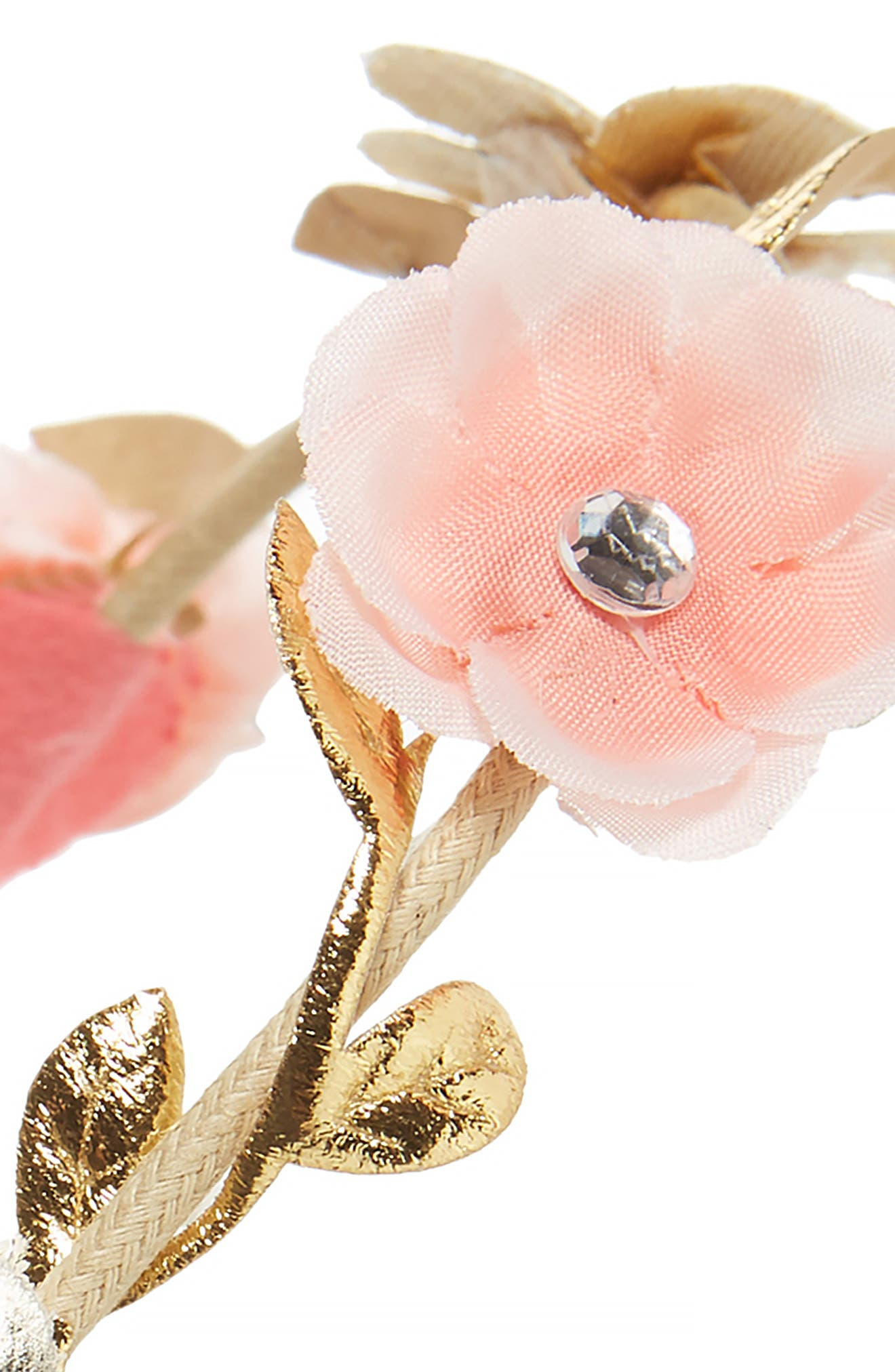 Capelli of New York Crystal Flower Head Wrap,                             Alternate thumbnail 2, color,                             950