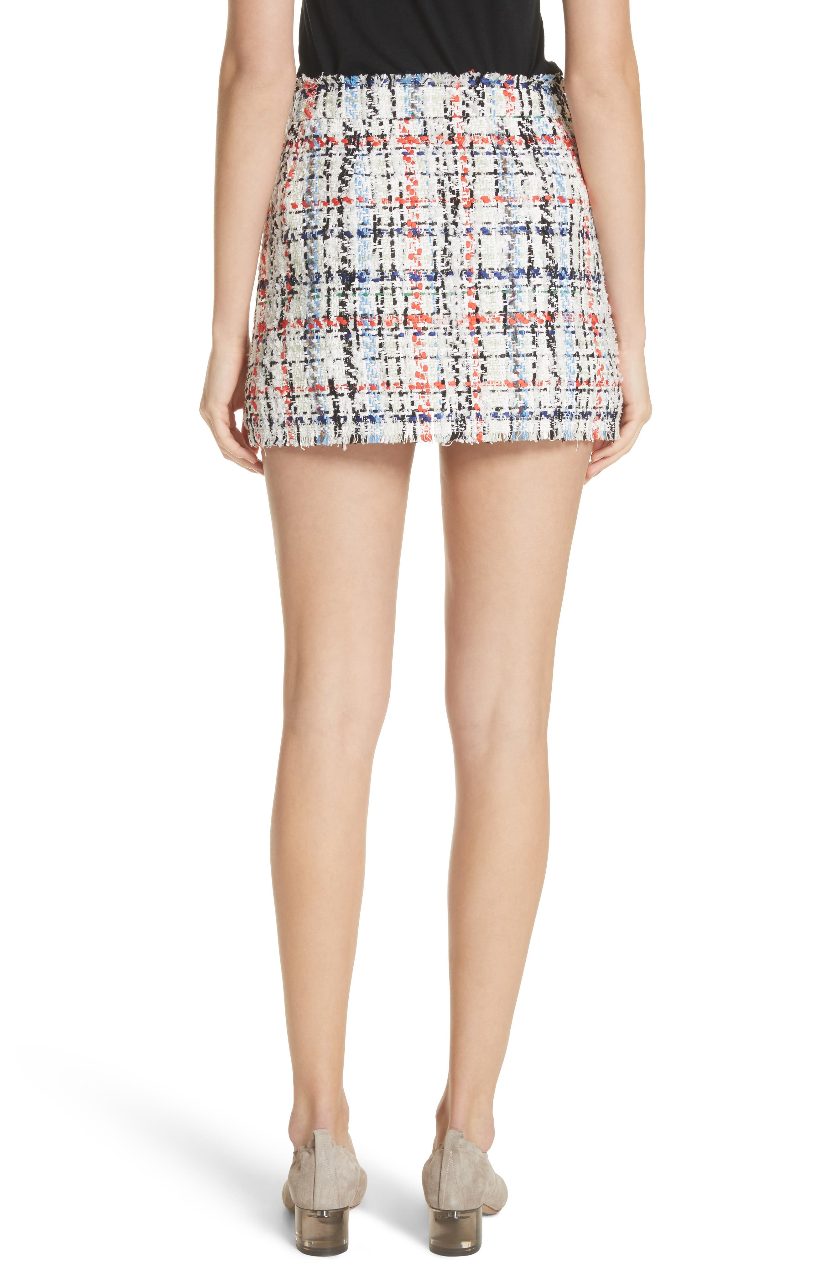 Otis Tweed Miniskirt,                             Alternate thumbnail 2, color,                             169