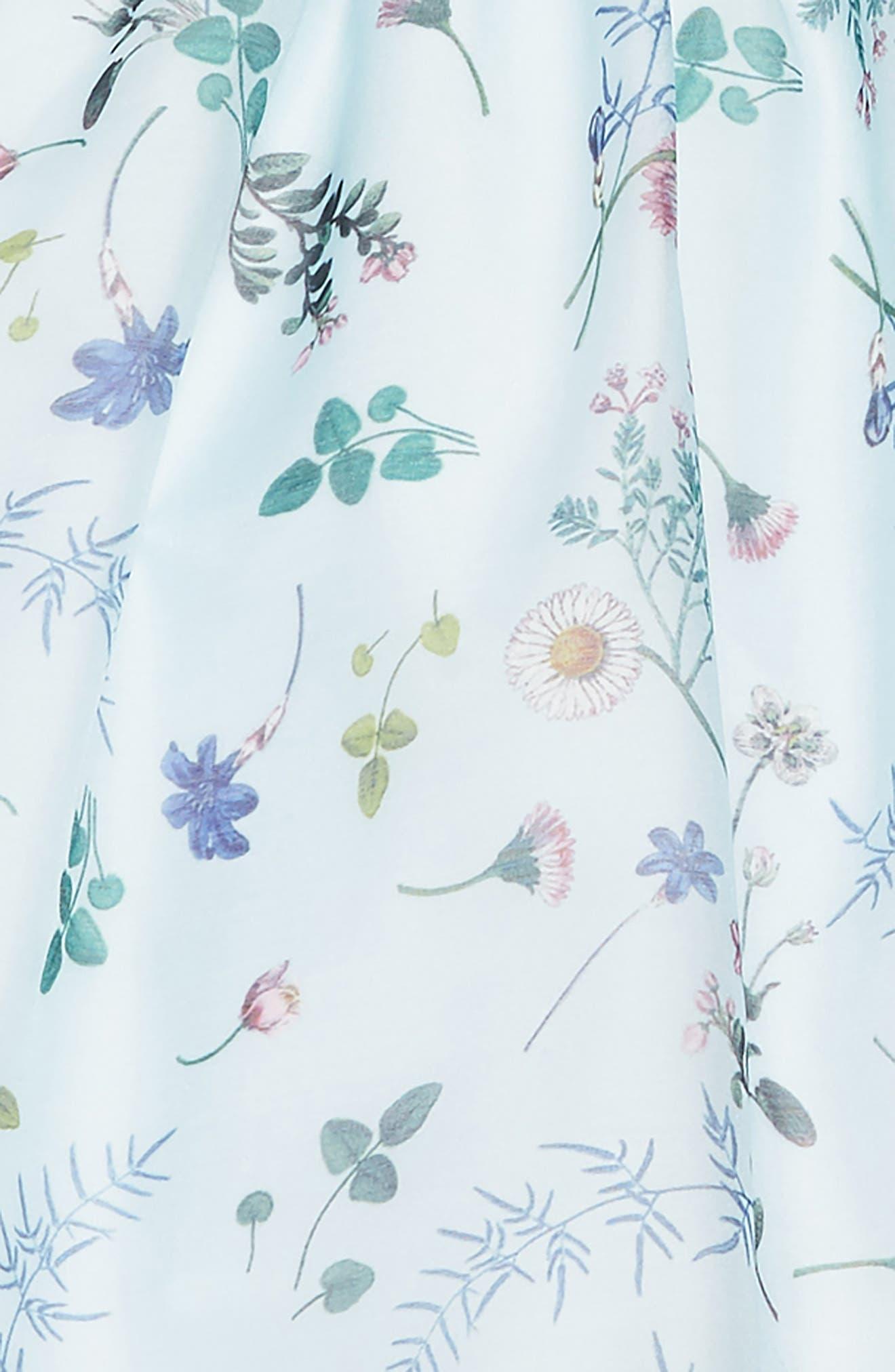 Wildflower Dress,                             Alternate thumbnail 3, color,                             MULTI