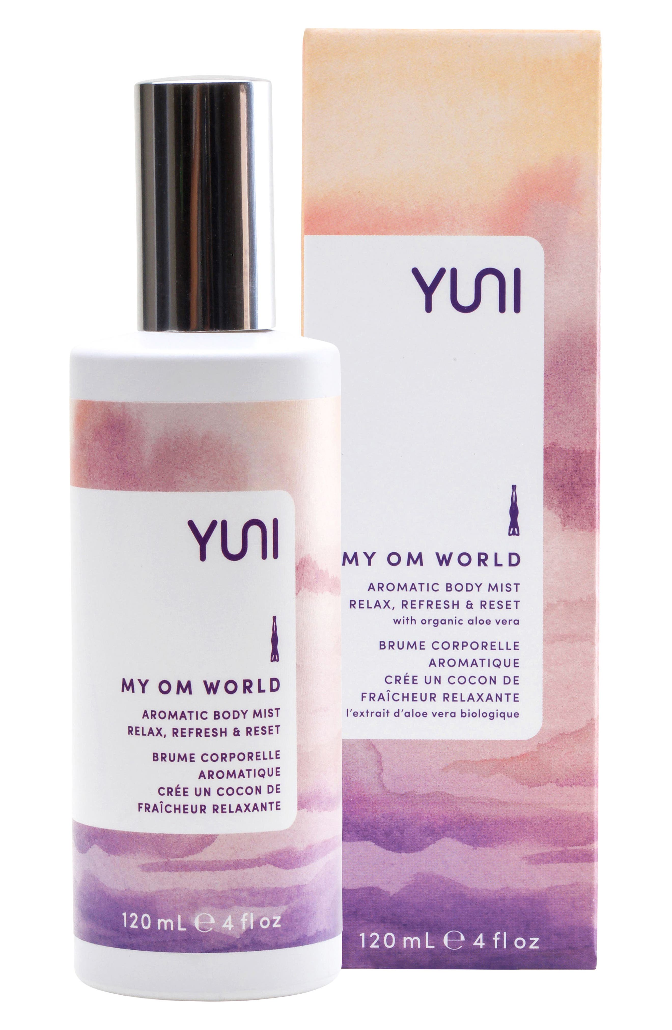 My Om World Aromatic Body Mist,                             Alternate thumbnail 2, color,                             NO COLOR