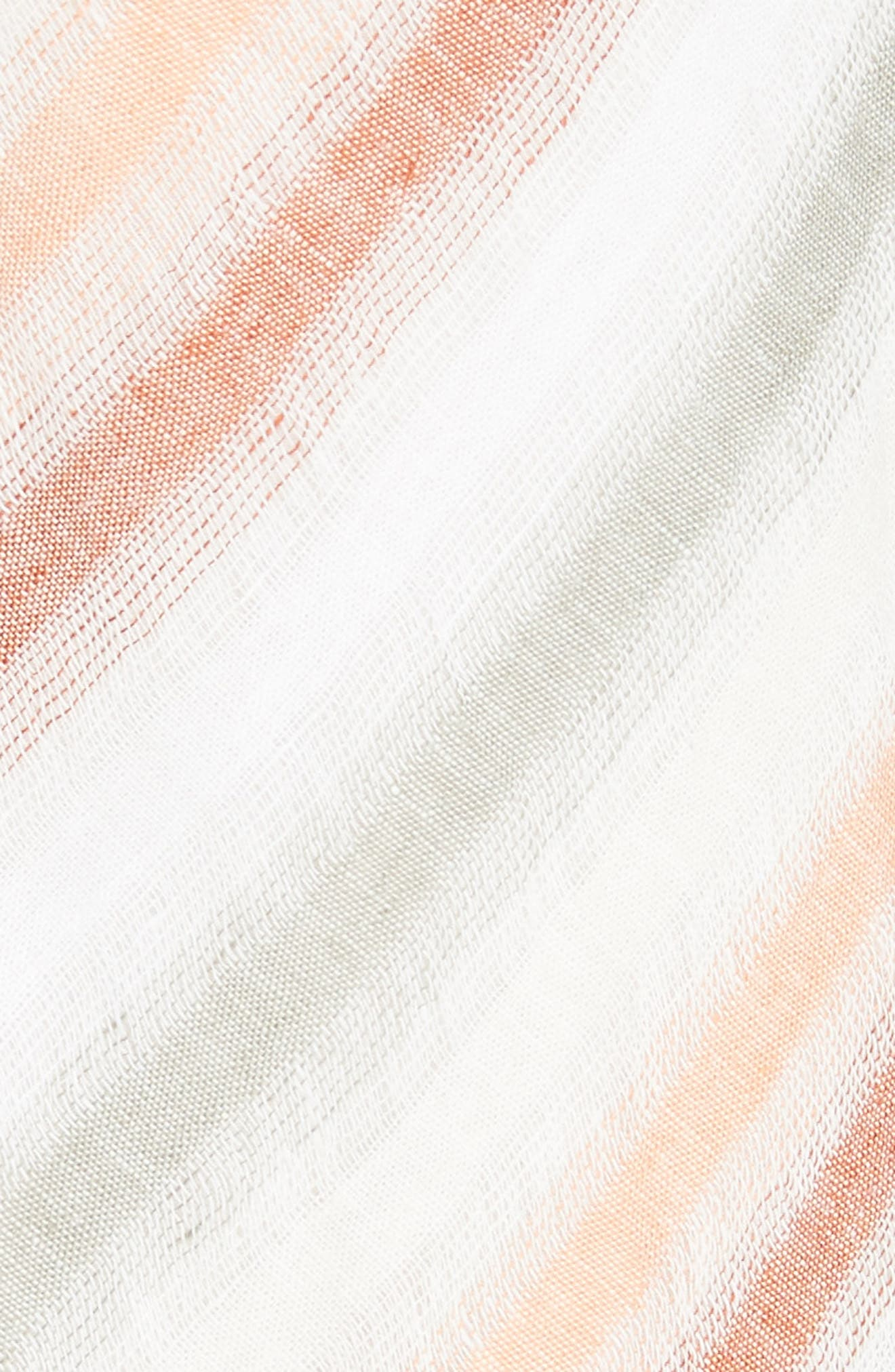 Striking Stripe Midi Dress,                             Alternate thumbnail 6, color,                             903
