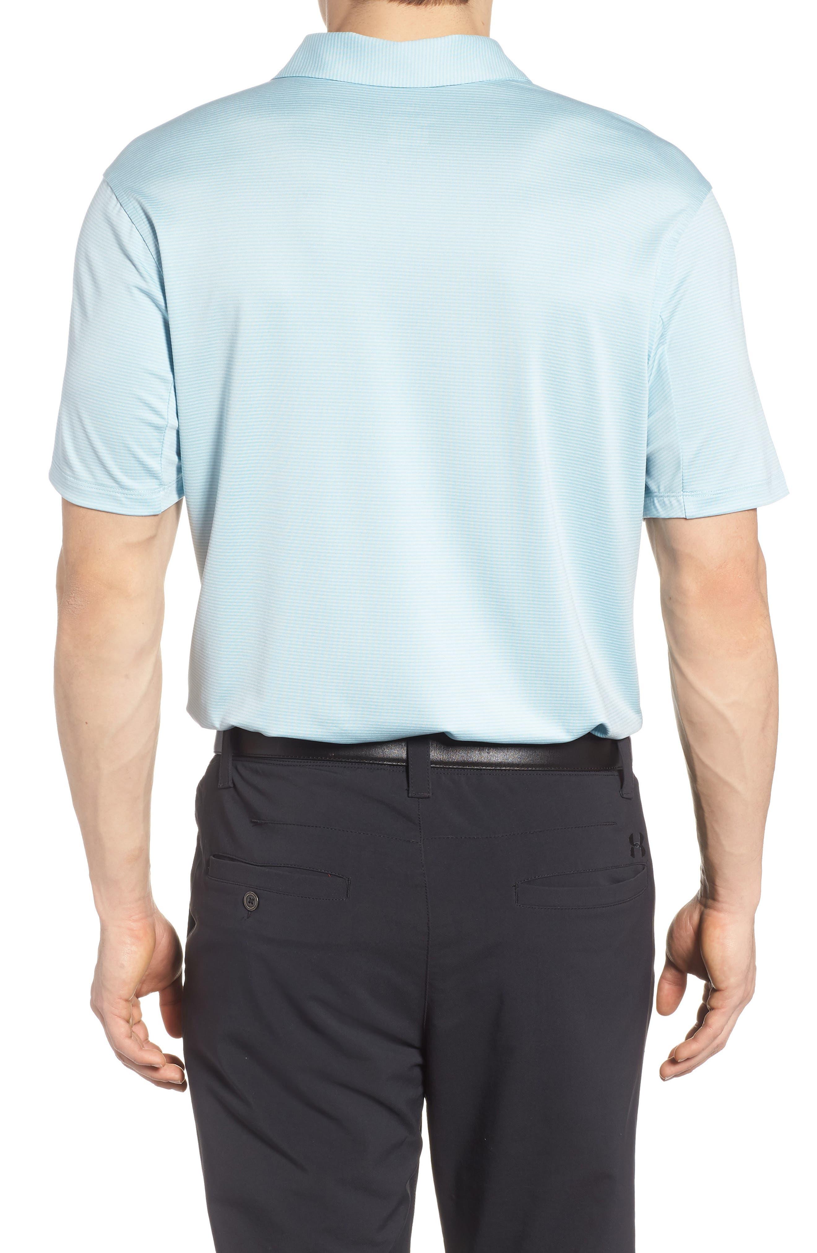 Dry Polo Shirt,                             Alternate thumbnail 2, color,                             OCEAN BLISS/ SILVER