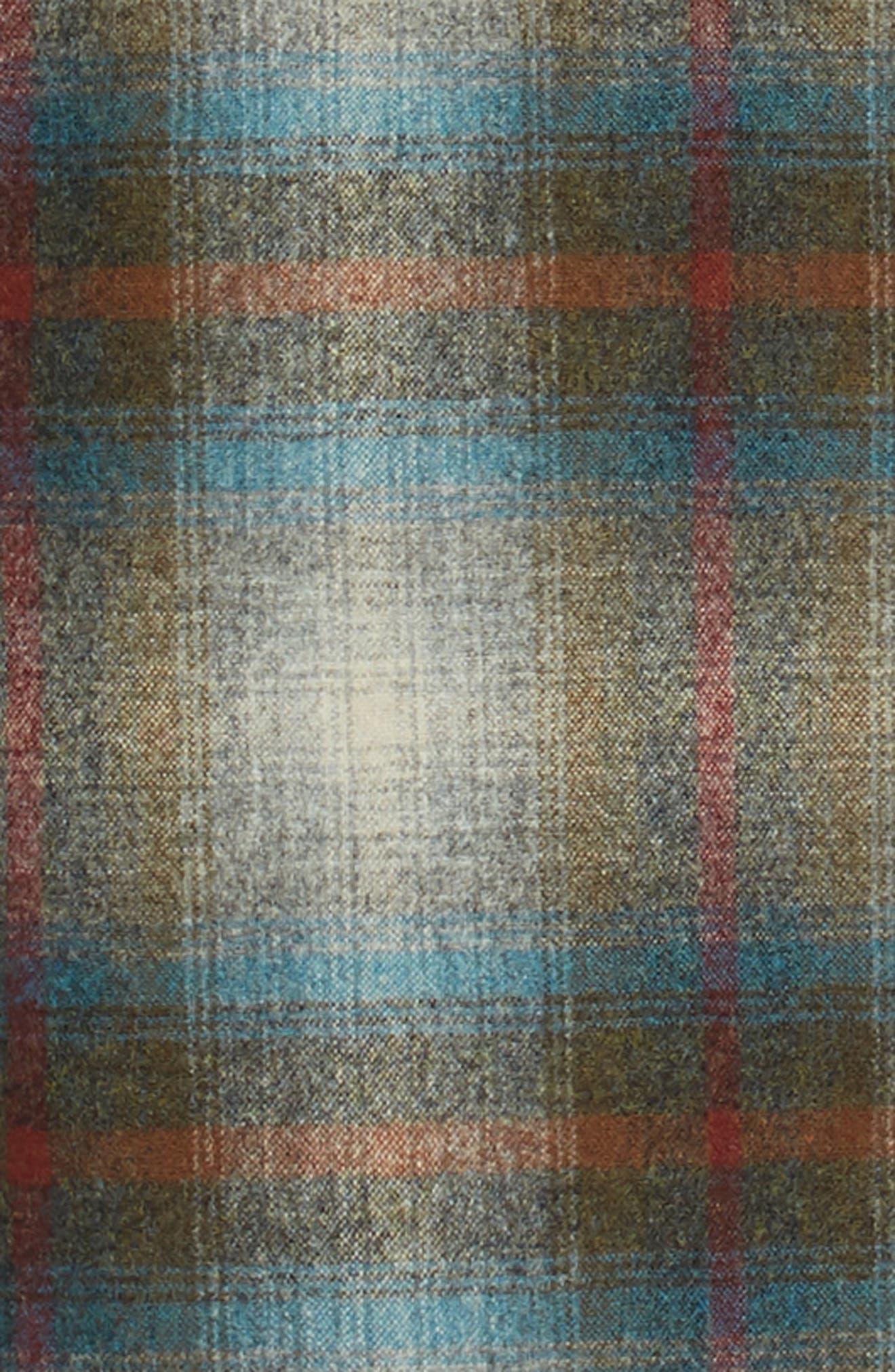 Board Wool Flannel Shirt,                             Alternate thumbnail 6, color,                             MULTI PLAID