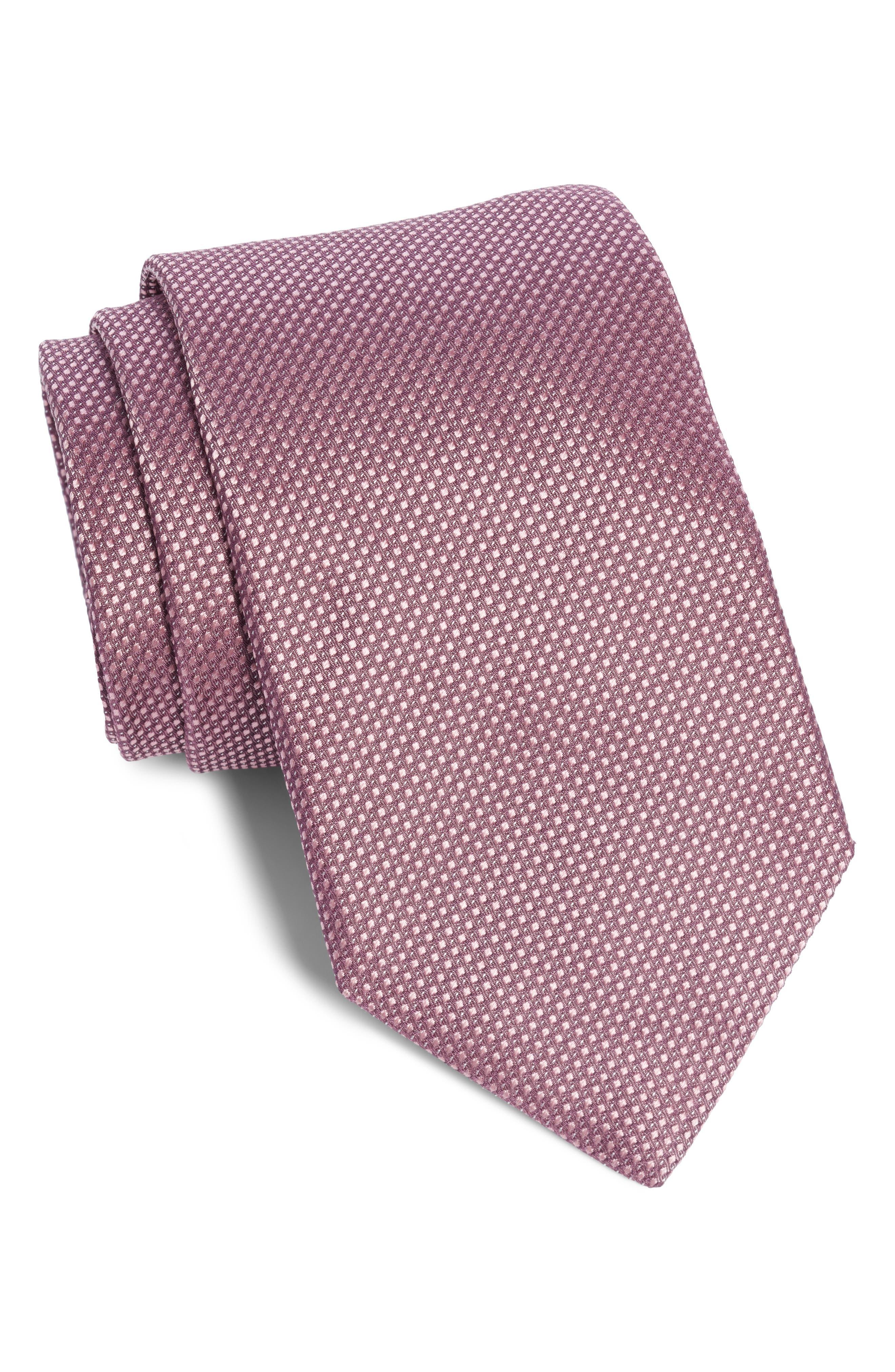 Solid Silk Tie, Main, color, 680