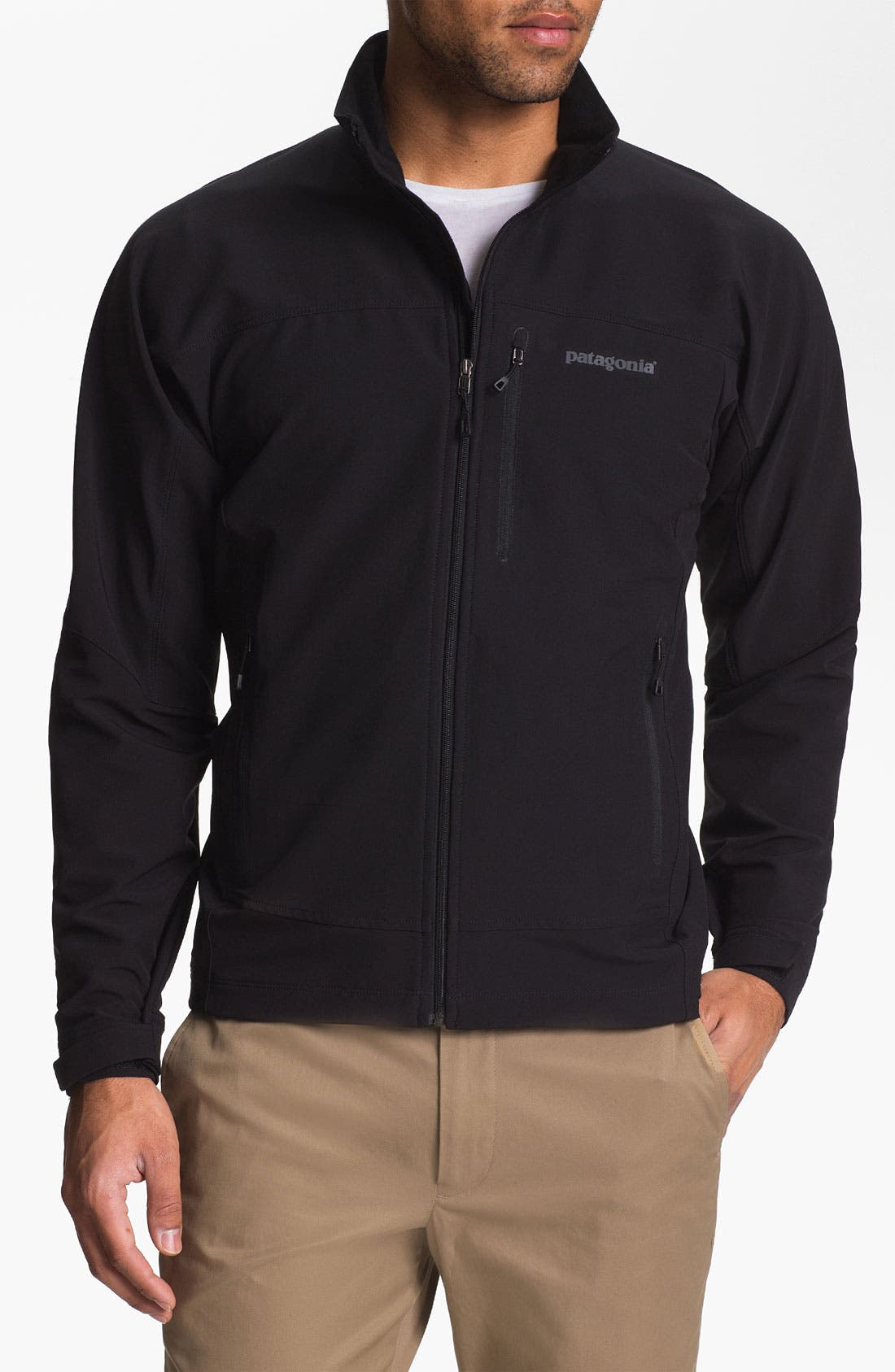 'Simple Guide' Lightweight Jacket,                             Main thumbnail 1, color,                             001