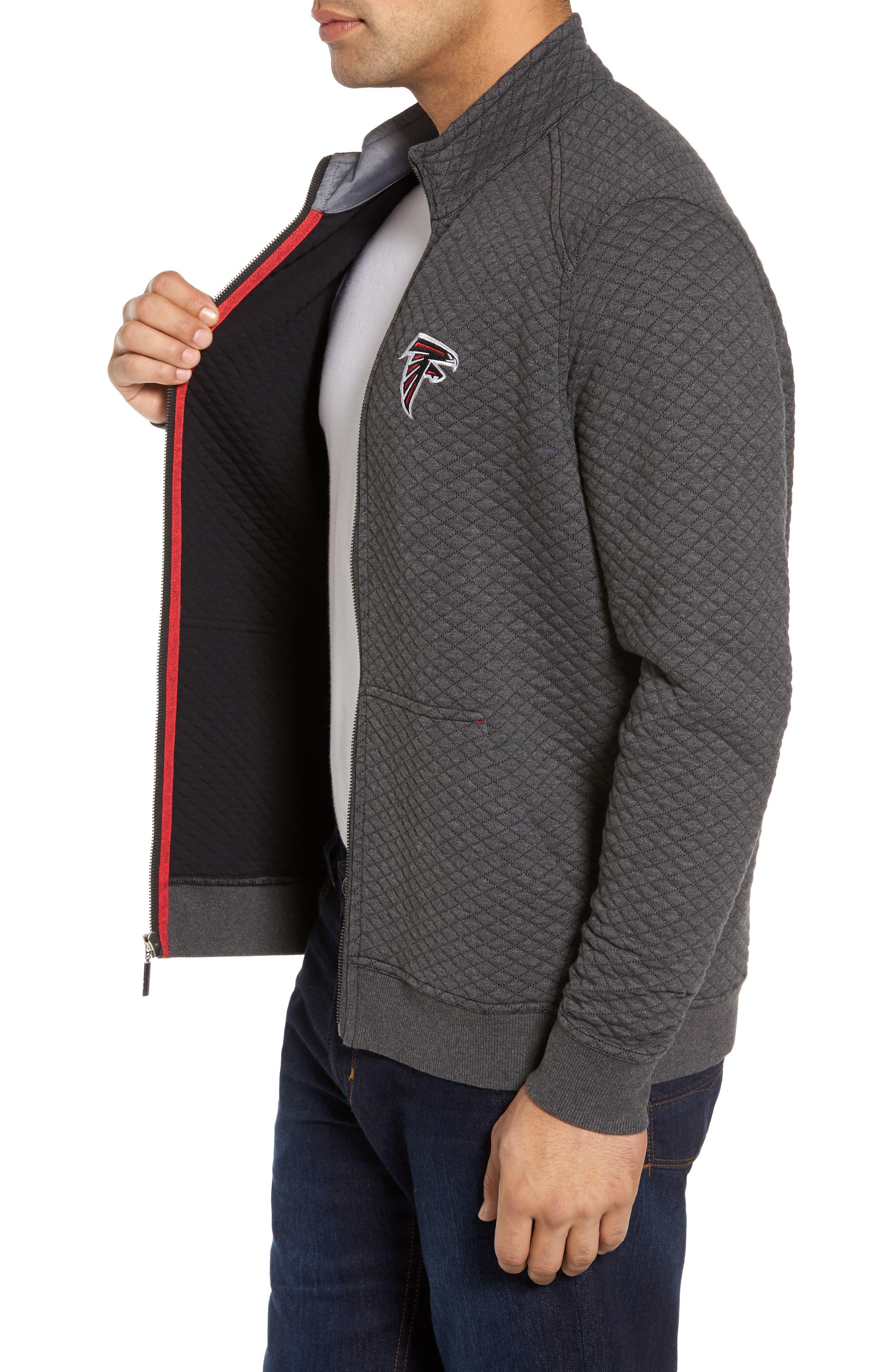 NFL Quiltessential Full Zip Sweatshirt,                             Alternate thumbnail 77, color,