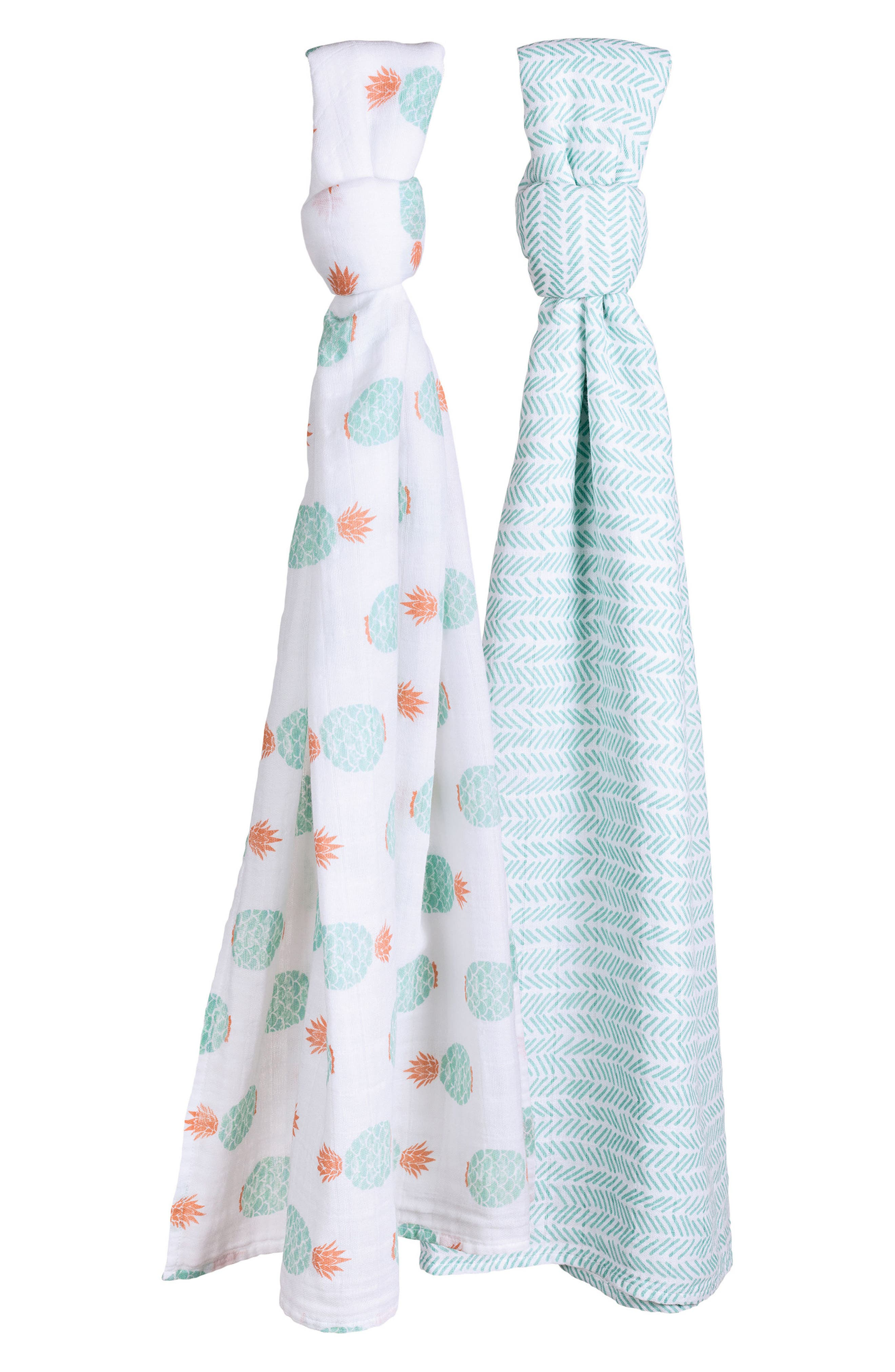 2-Pack Muslin Swaddle Blankets,                             Main thumbnail 1, color,                             340