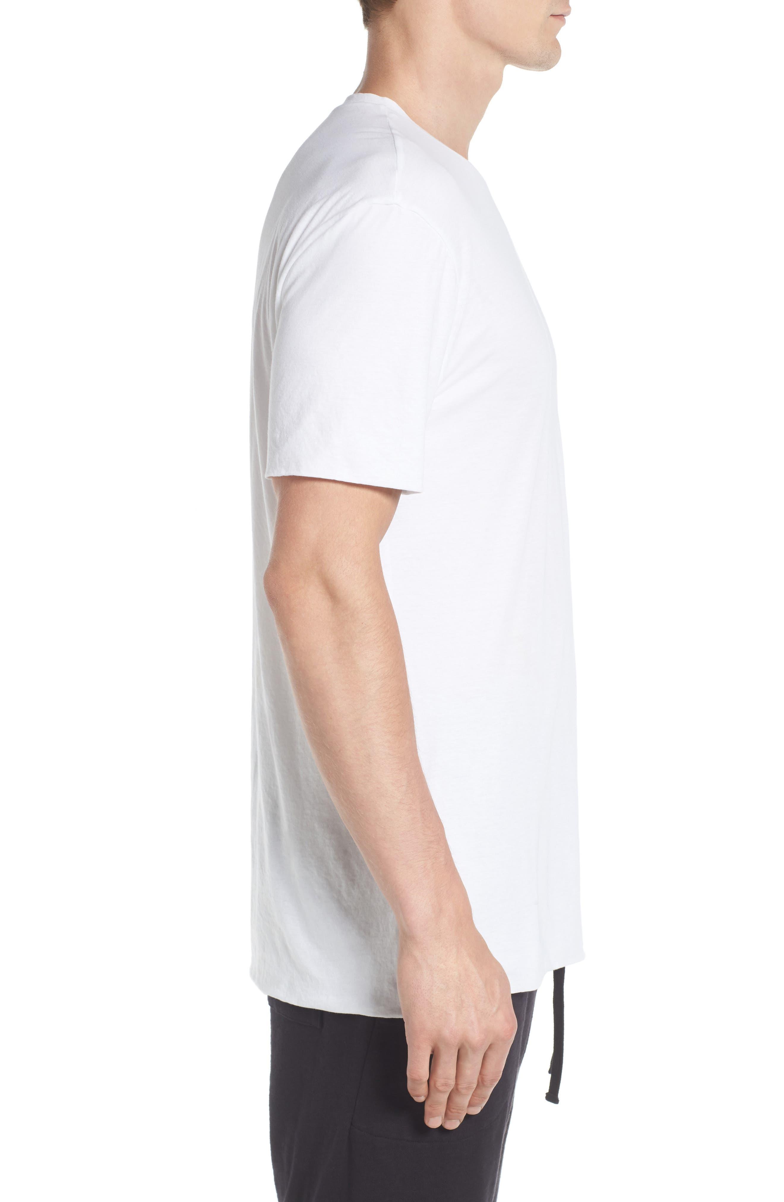 Double Layer T-Shirt,                             Alternate thumbnail 3, color,                             137