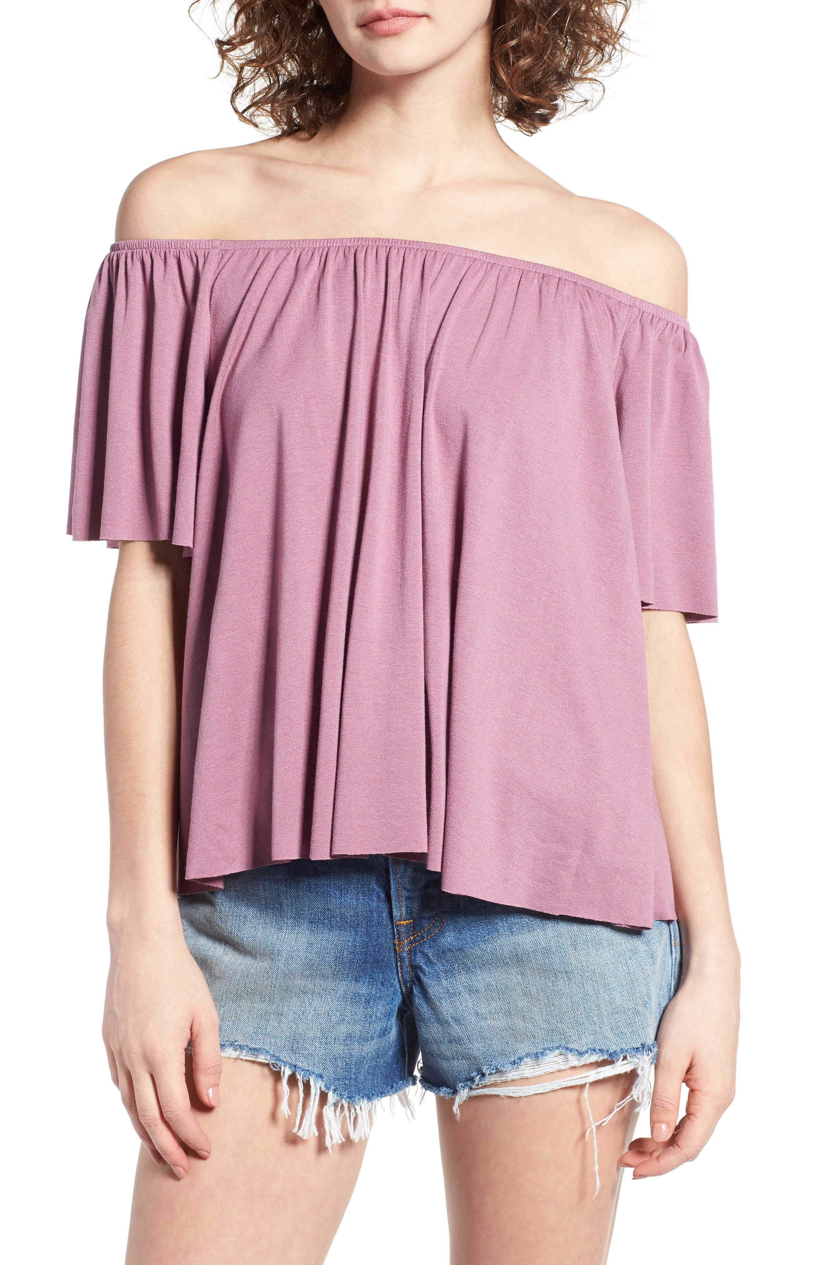 Off the Shoulder Top,                             Main thumbnail 7, color,