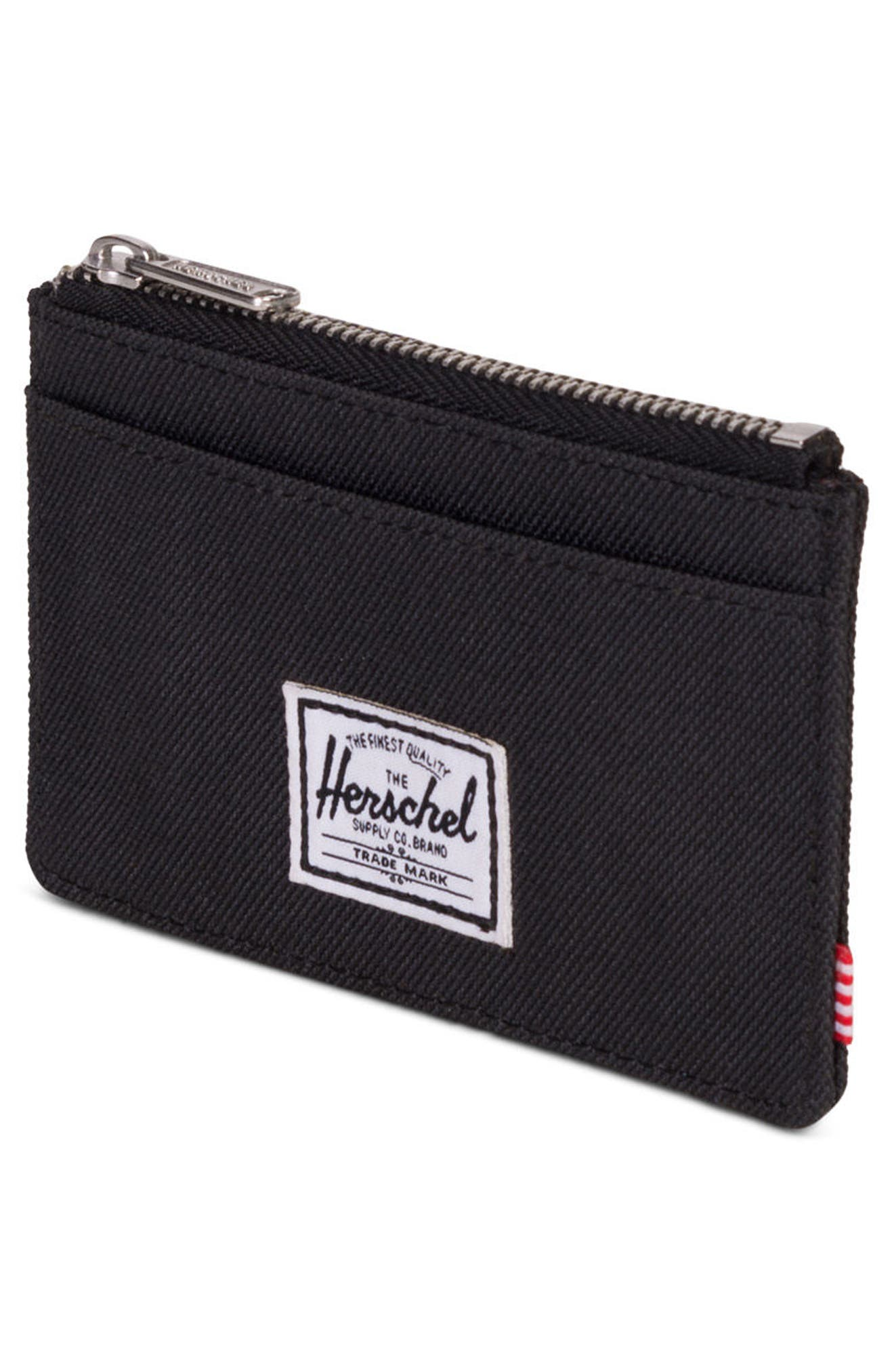 Oscar Card Case,                             Alternate thumbnail 3, color,                             BLACK