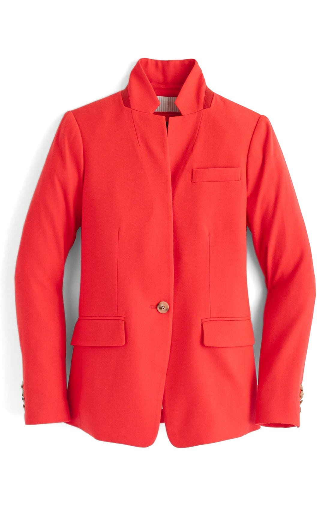 Regent Stand Collar Blazer,                             Alternate thumbnail 7, color,