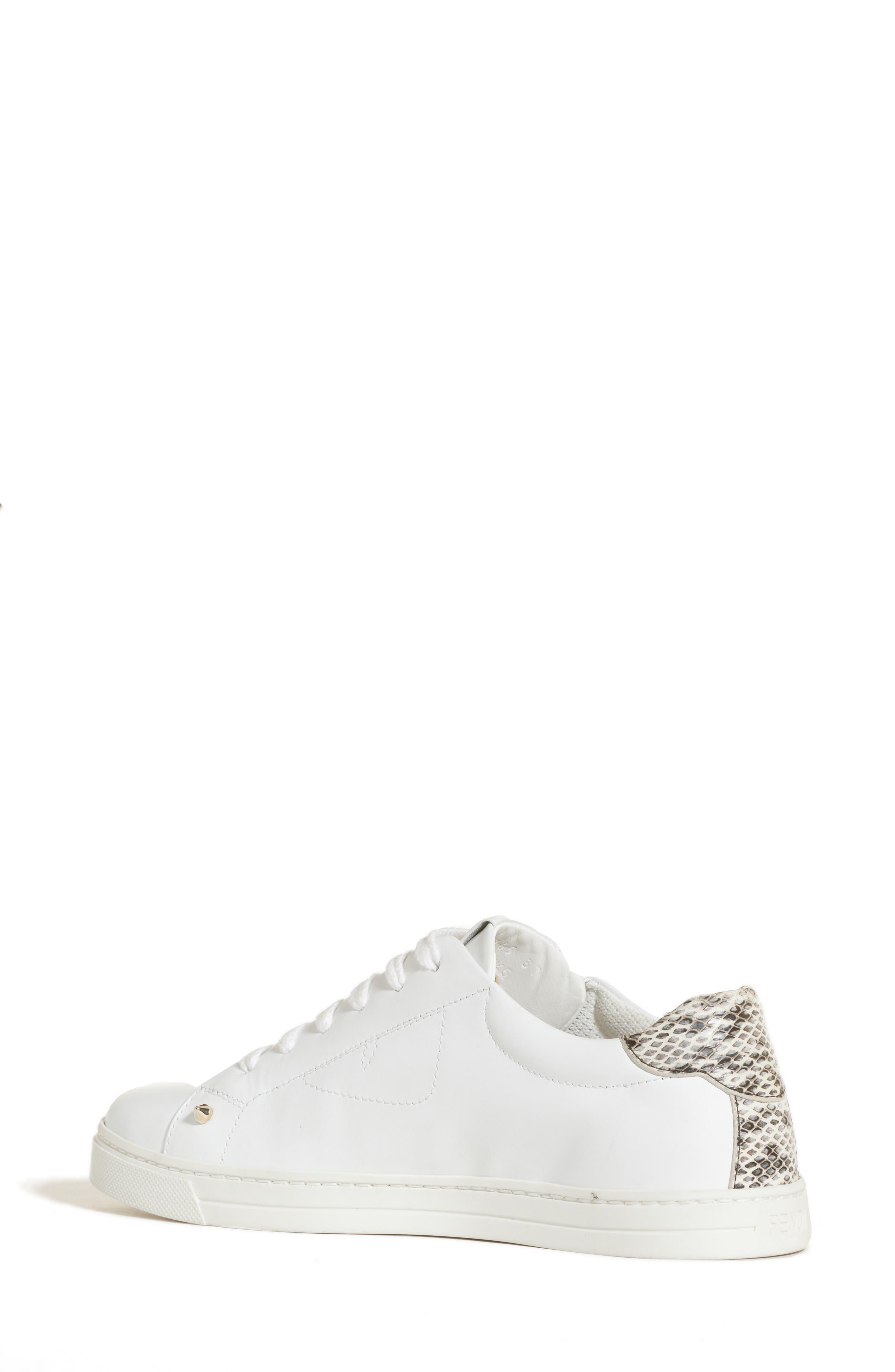 Bugs Sneaker,                             Alternate thumbnail 2, color,                             WHITE/ SNAKEPRINT