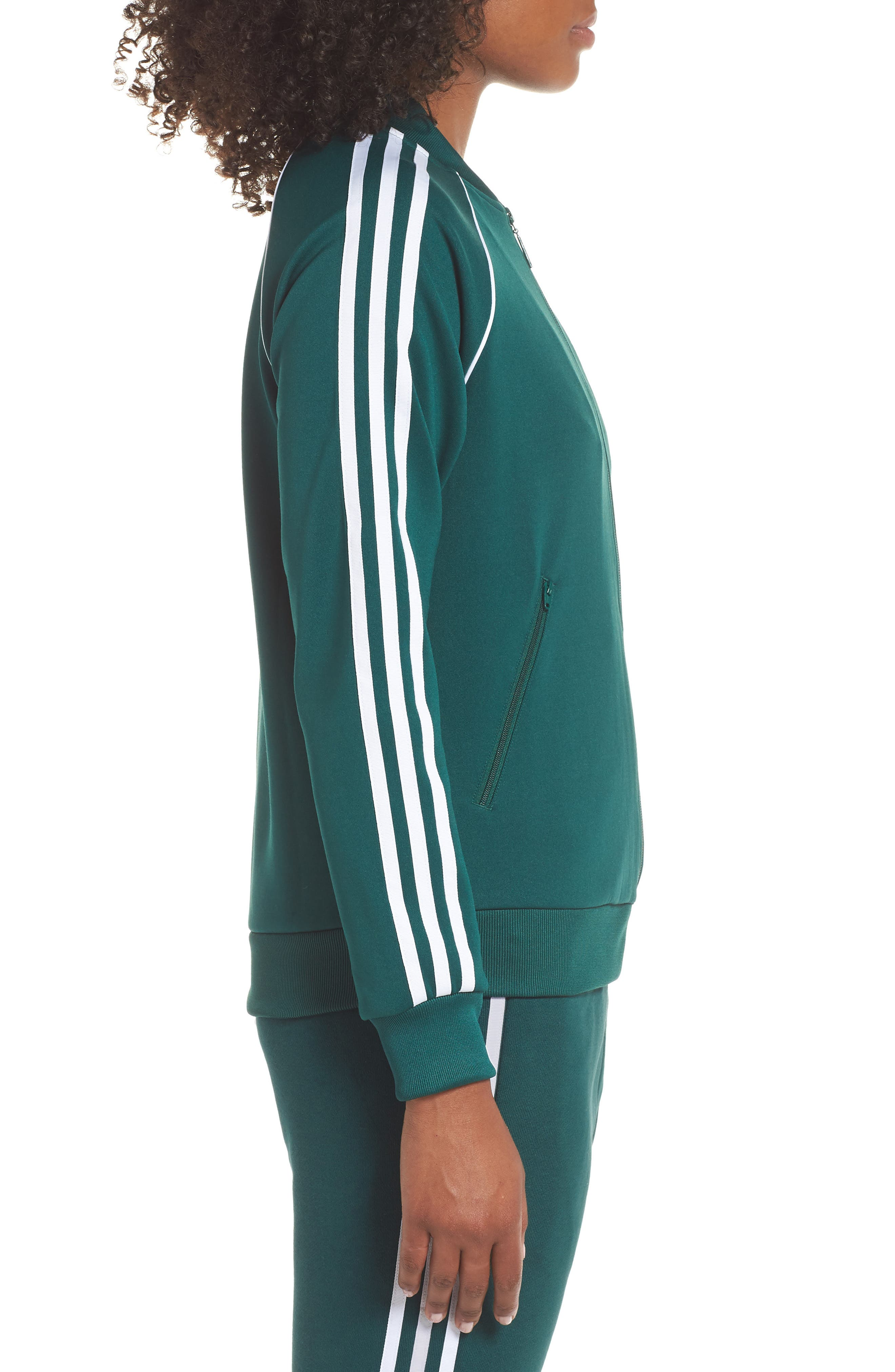 adidas SST Track Jacket,                             Alternate thumbnail 3, color,                             305