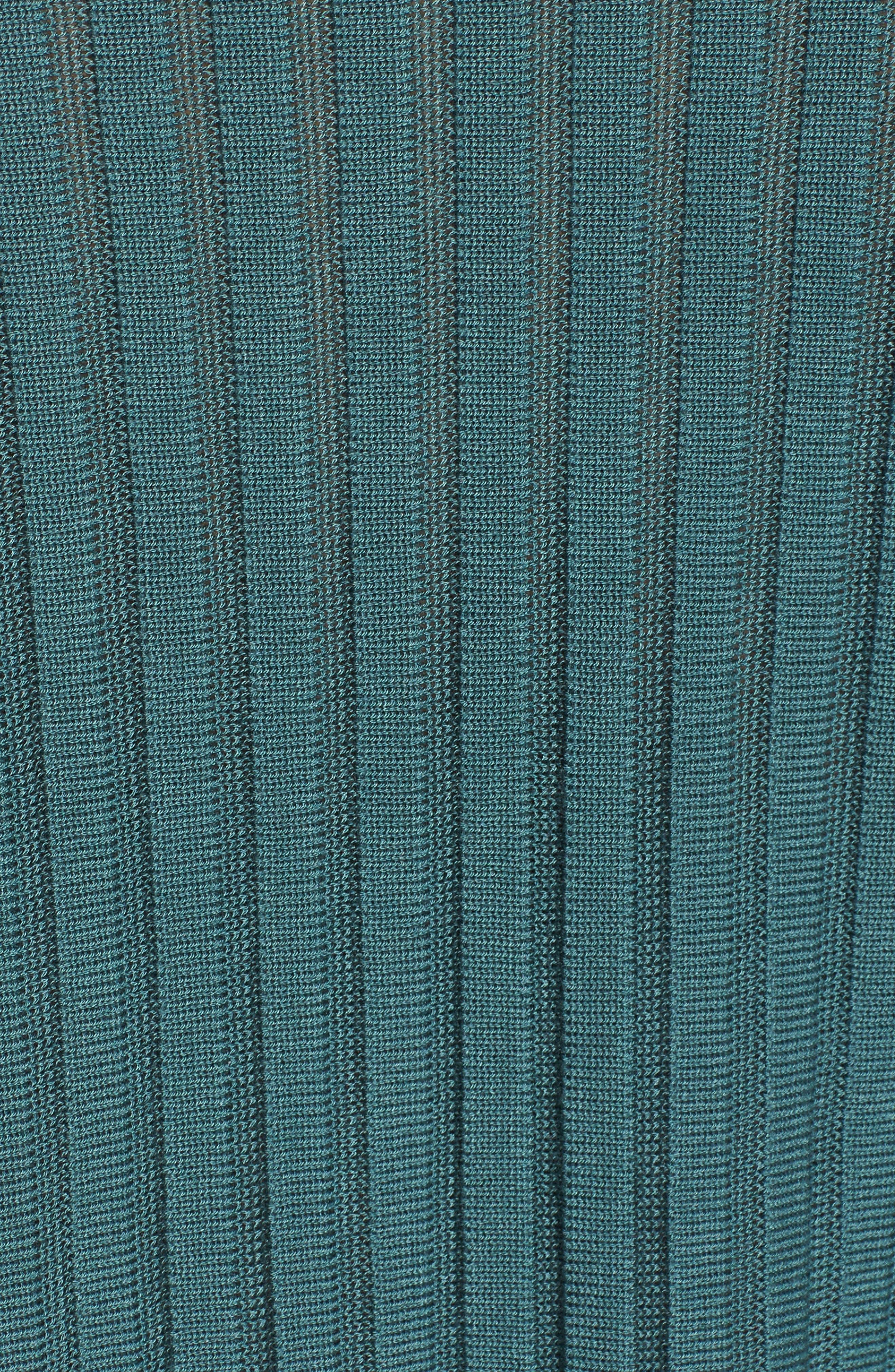 Ribbed Bateau Neck Sweater,                             Alternate thumbnail 19, color,