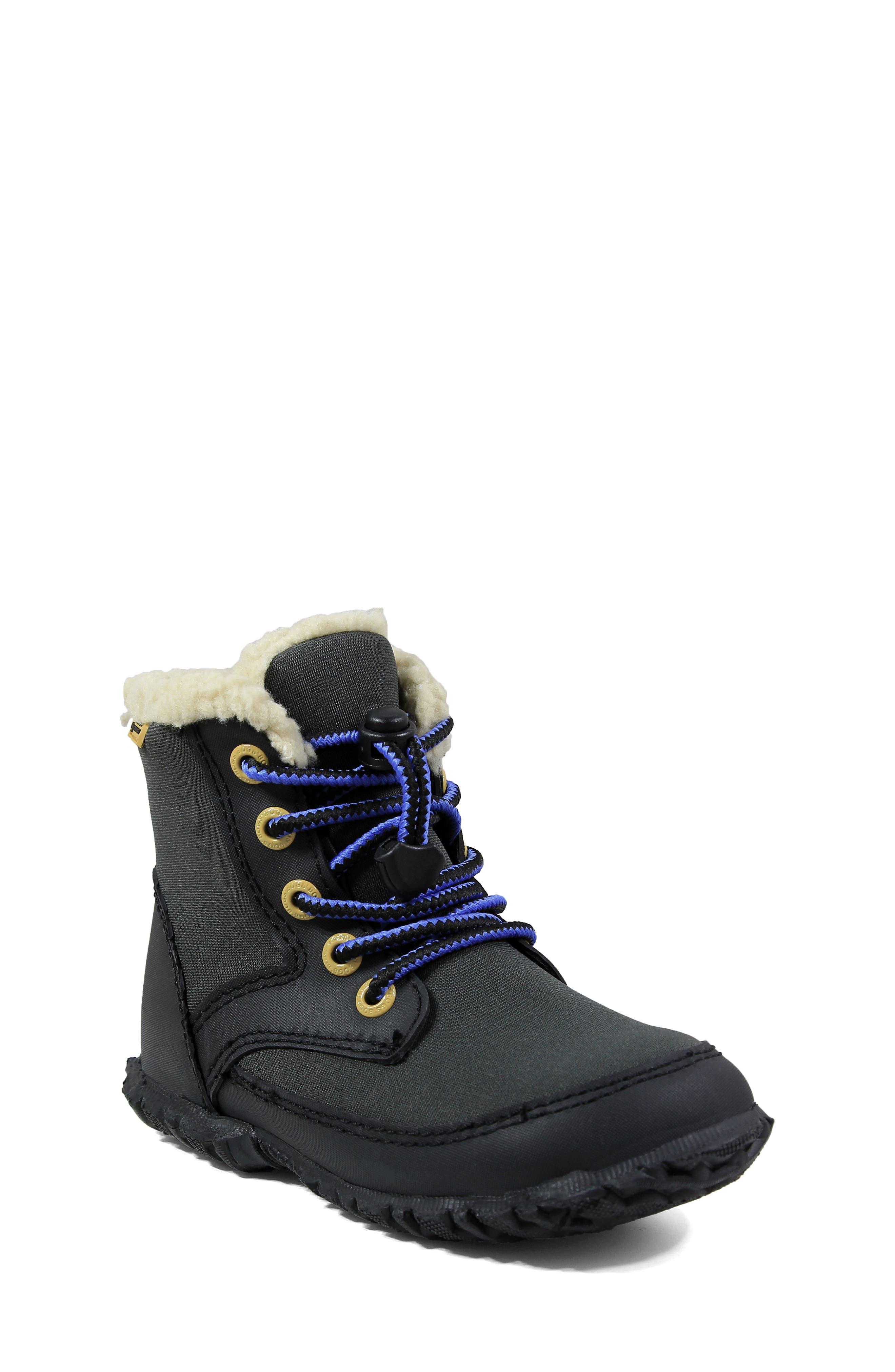 Skyler Faux Fur Insulated Waterproof Boot,                         Main,                         color,