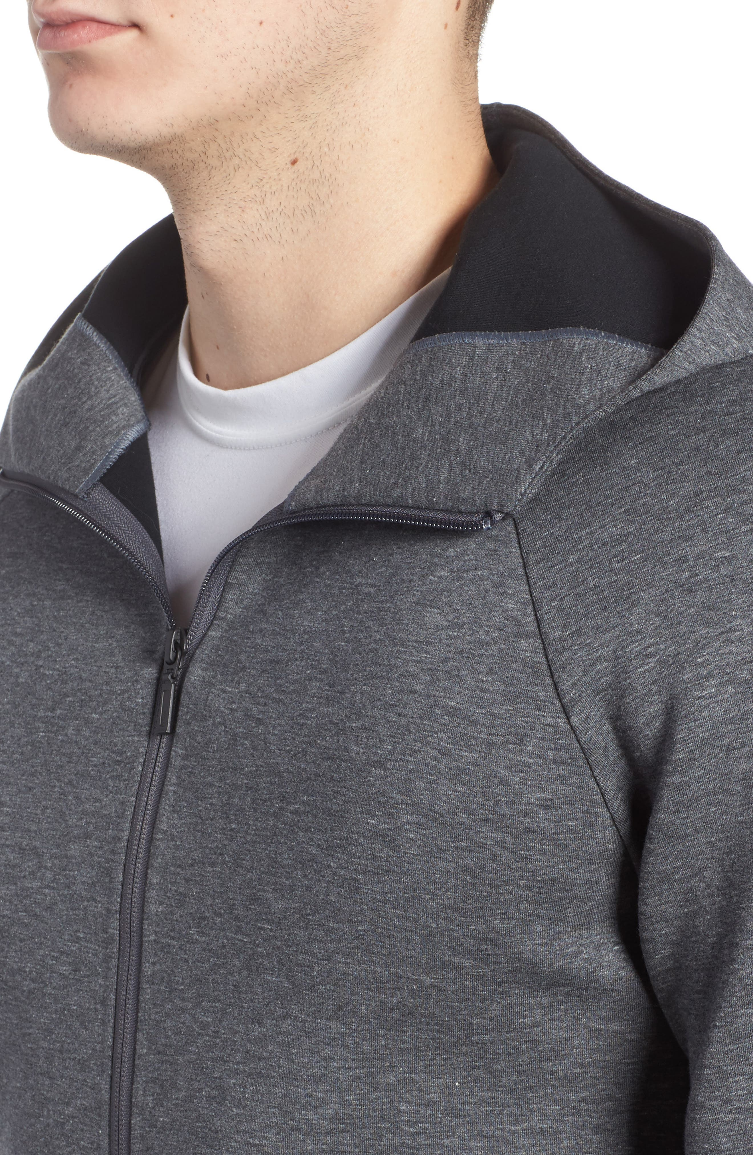 Ethos Zip Hoodie,                             Alternate thumbnail 4, color,                             021