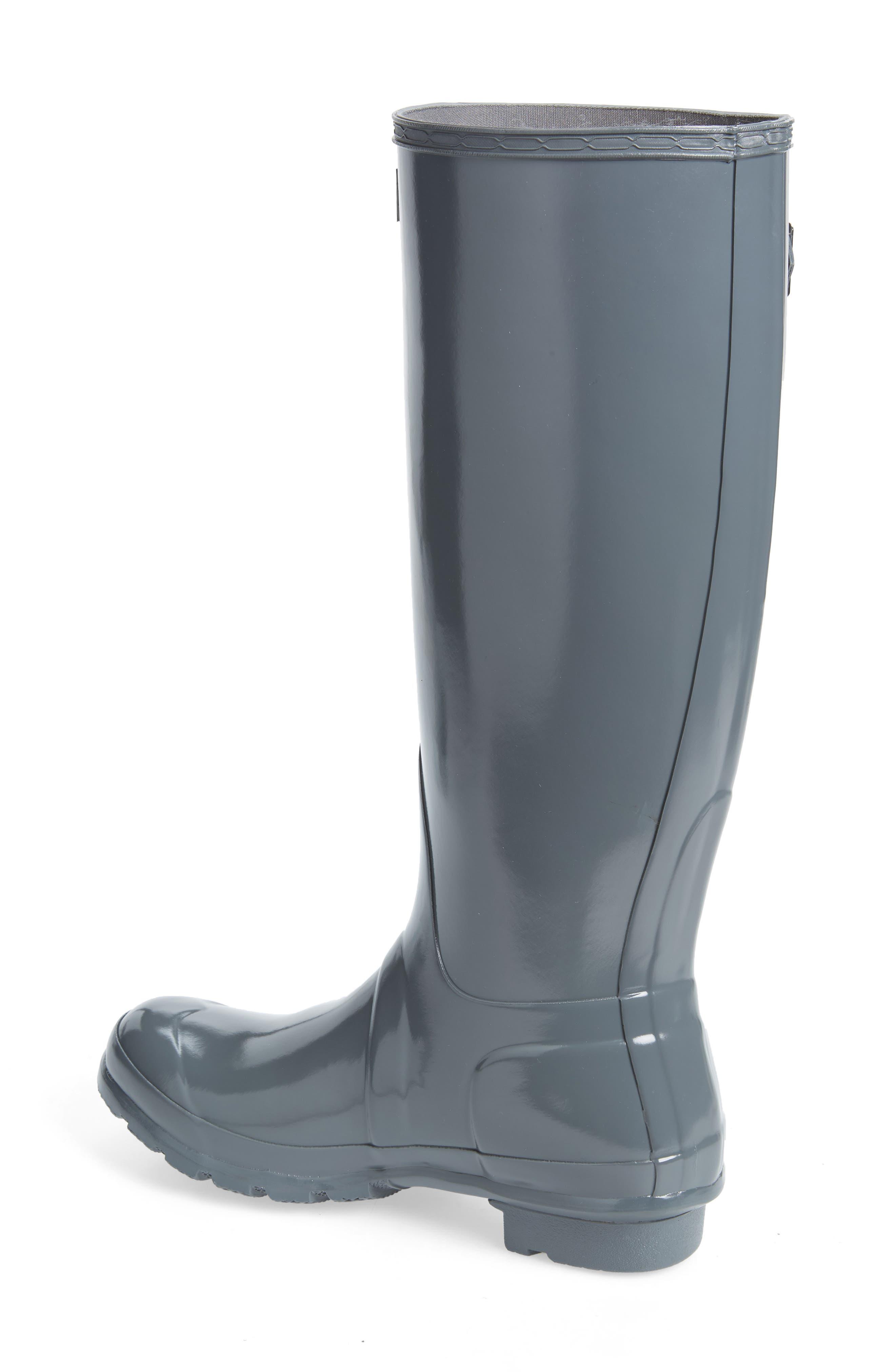 Original High Gloss Waterproof Boot,                             Alternate thumbnail 2, color,                             FEATHER