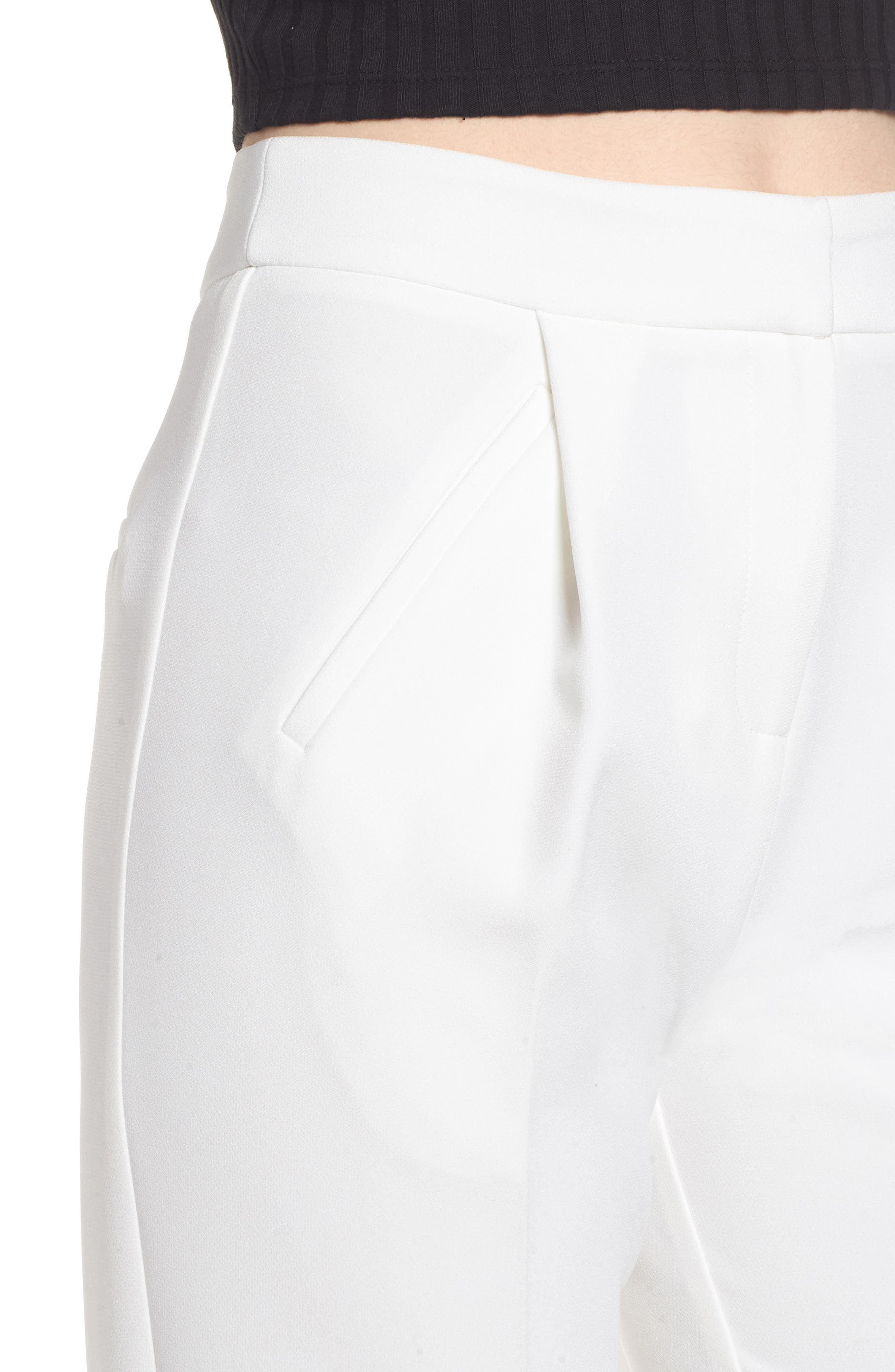 Clean Pocket Peg Trousers,                             Alternate thumbnail 4, color,                             900