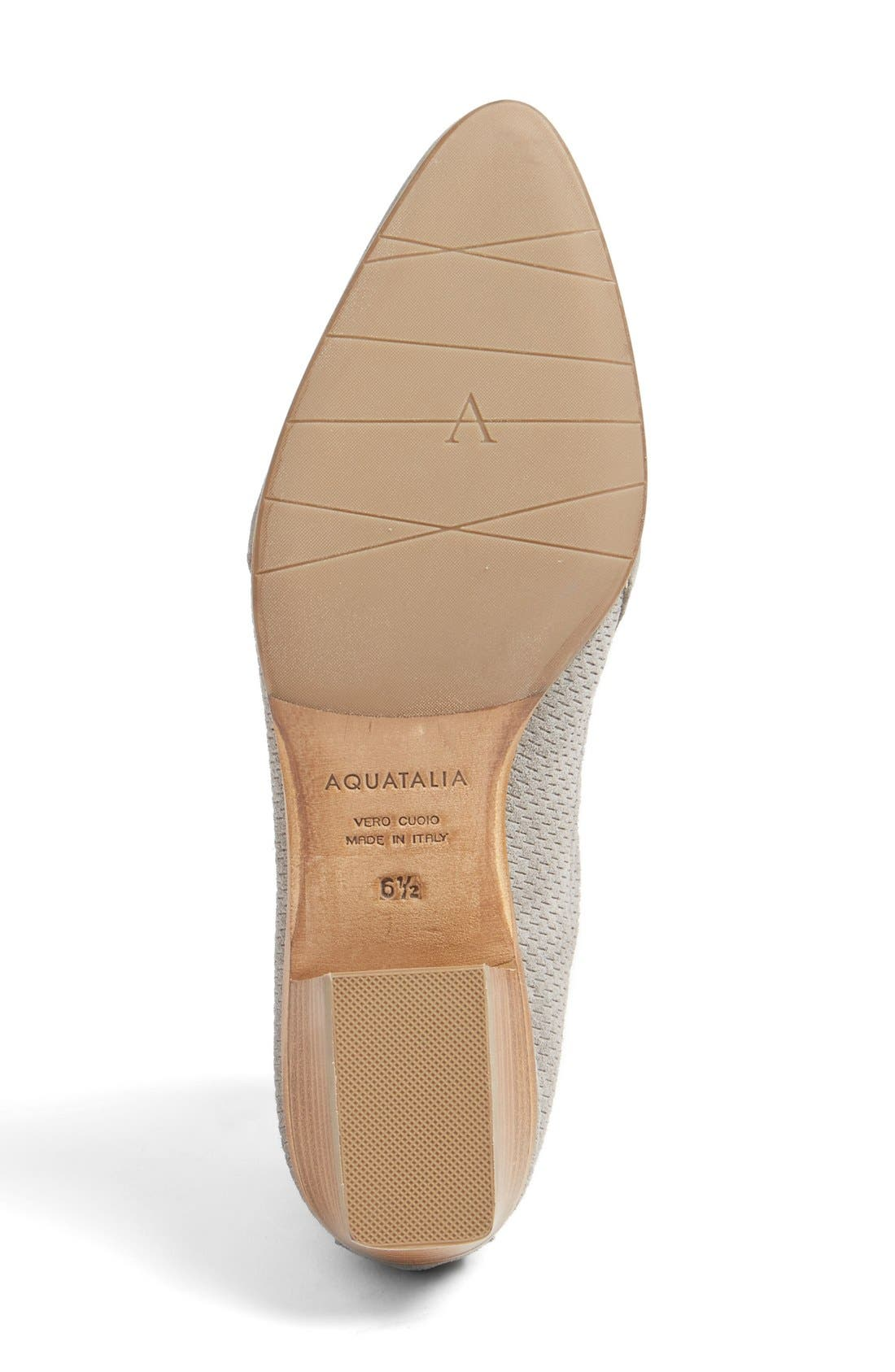 Fianna Perforated Bootie,                             Alternate thumbnail 3, color,