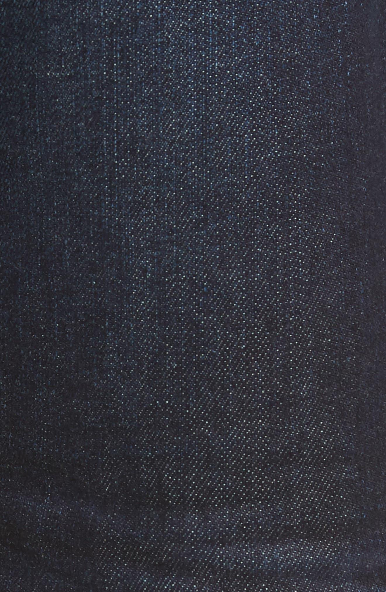 Everett Slim Straight Leg Jeans,                             Alternate thumbnail 5, color,                             5 YEARS CASINO