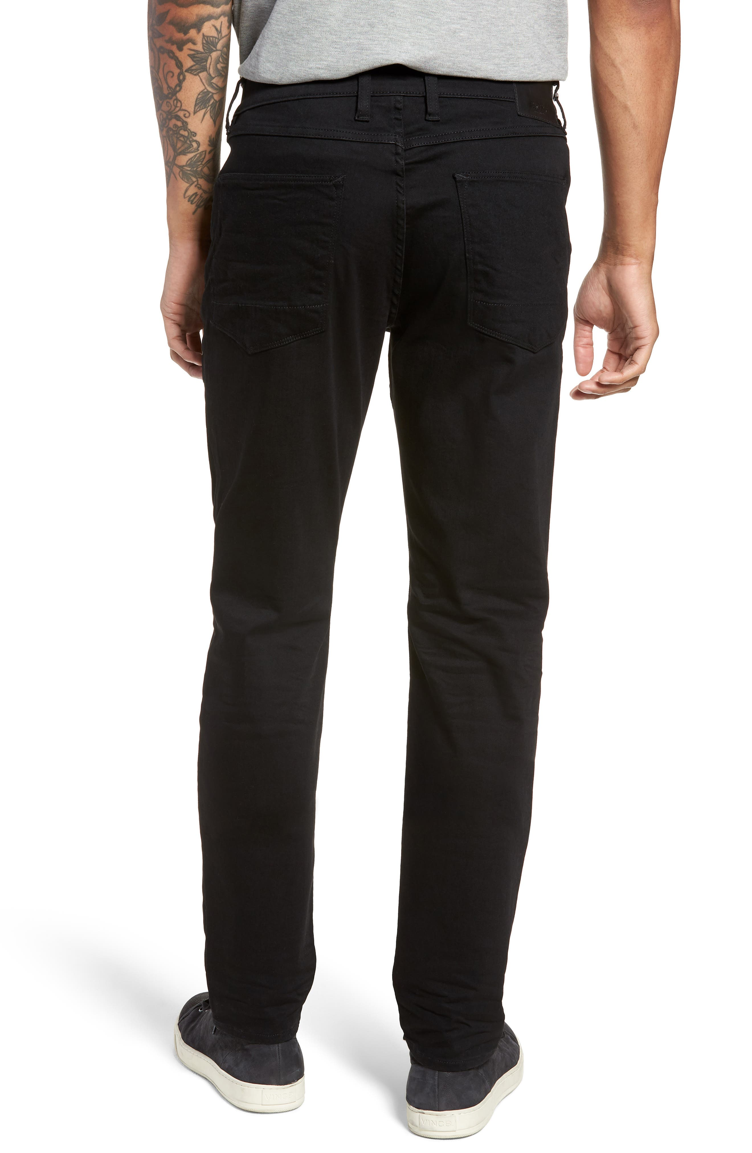 Sartor Slouchy Skinny Fit Jeans,                             Alternate thumbnail 2, color,                             001