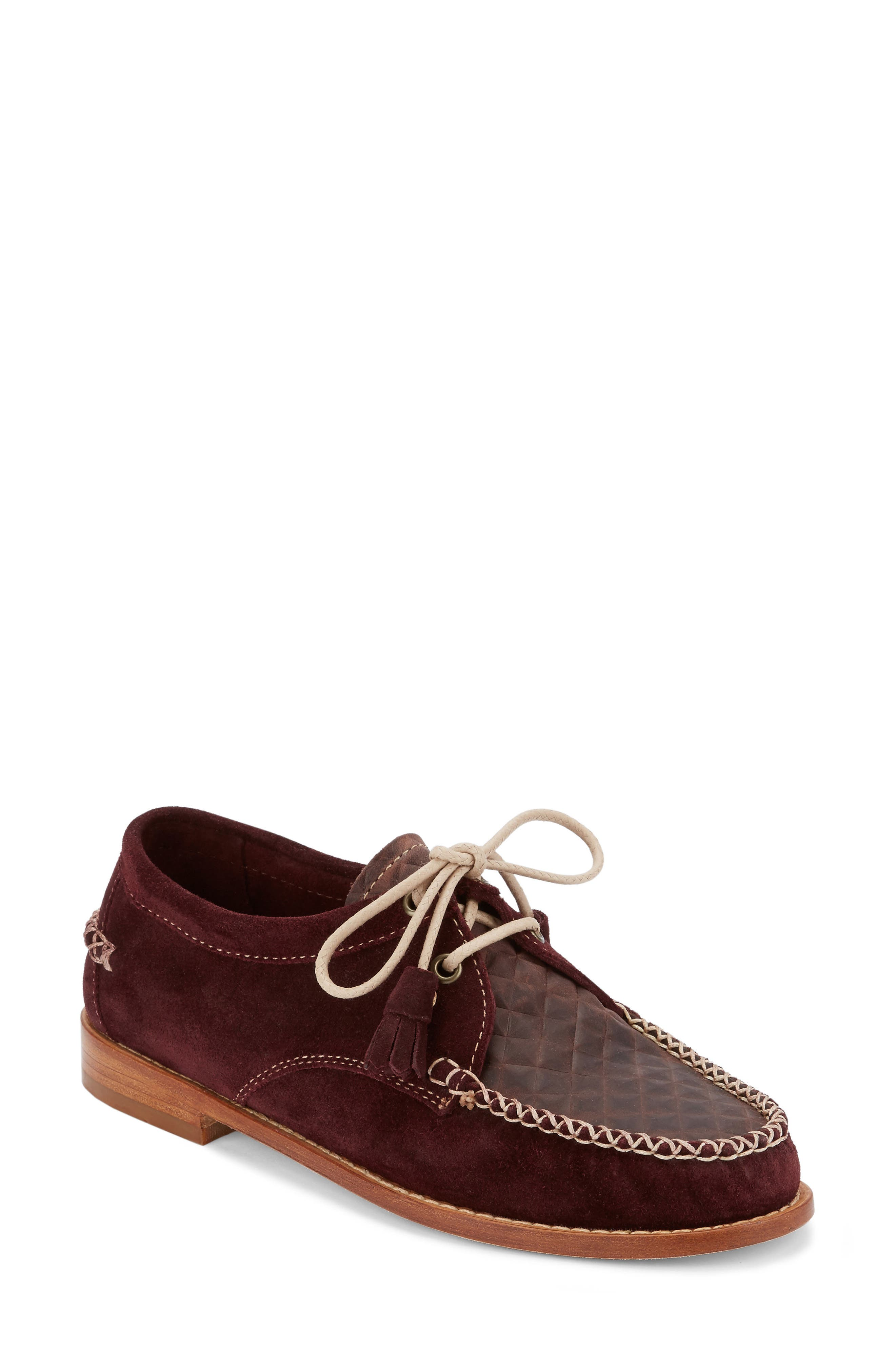 'Winnie' Leather Oxford,                             Main thumbnail 2, color,