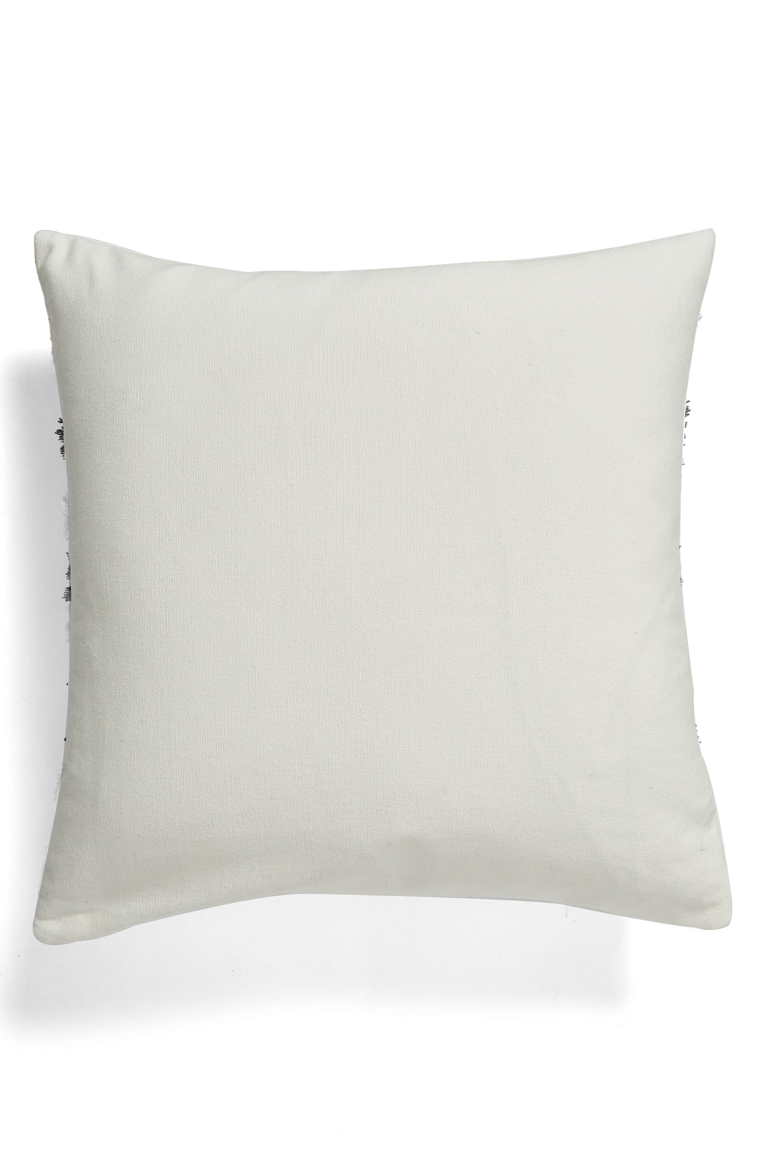 Tufted Diamond Accent Pillow,                             Alternate thumbnail 2, color,                             GREY
