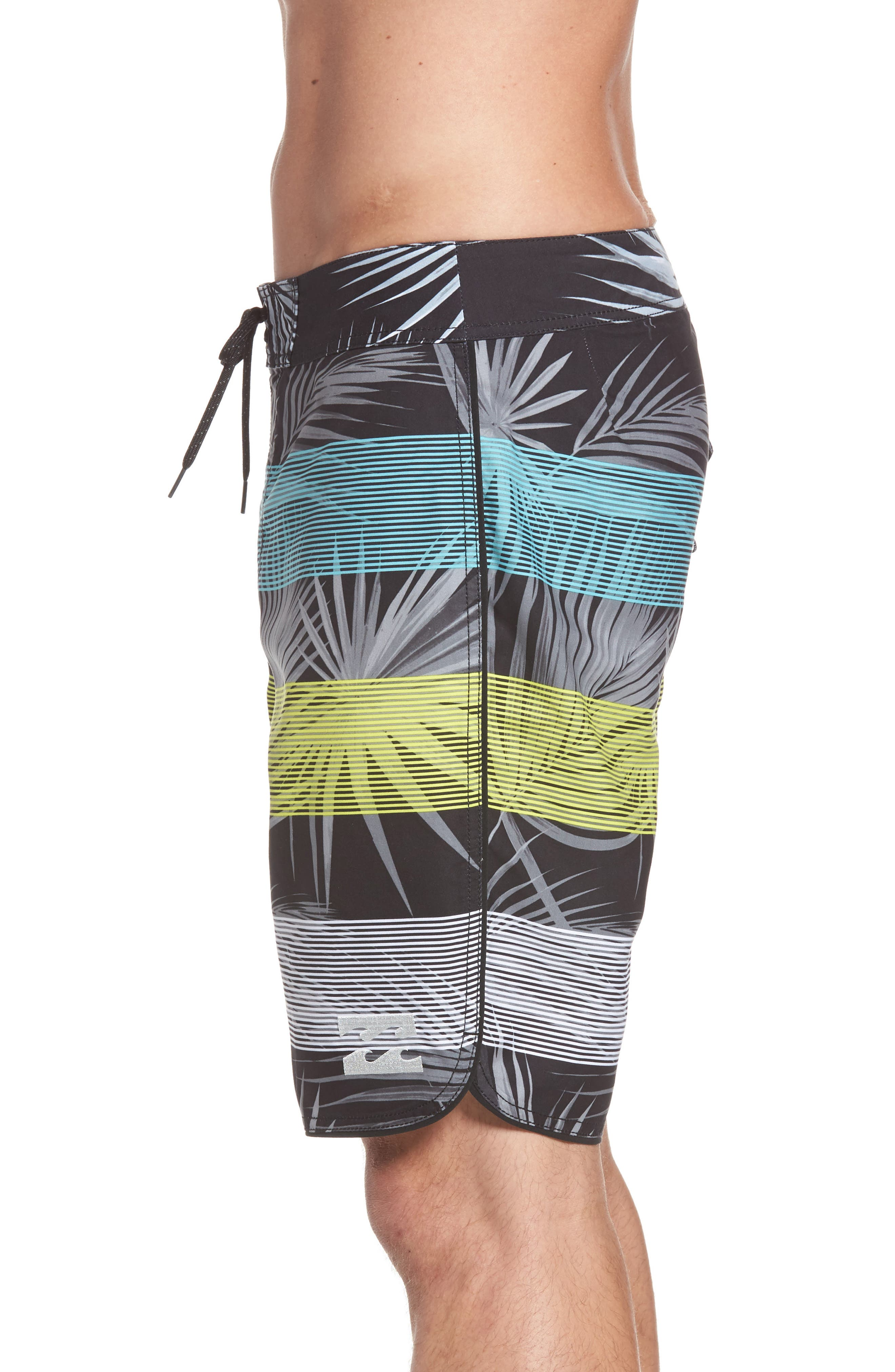 73 OG Stripe Board Shorts,                             Alternate thumbnail 3, color,                             001